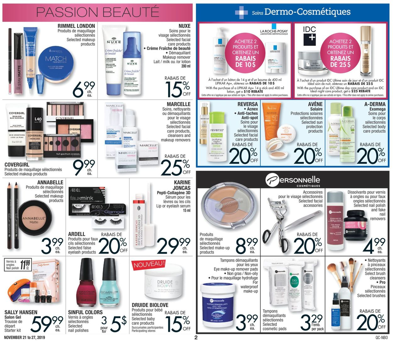 Jean Coutu Flyer - 11/21-11/27/2019 (Page 2)