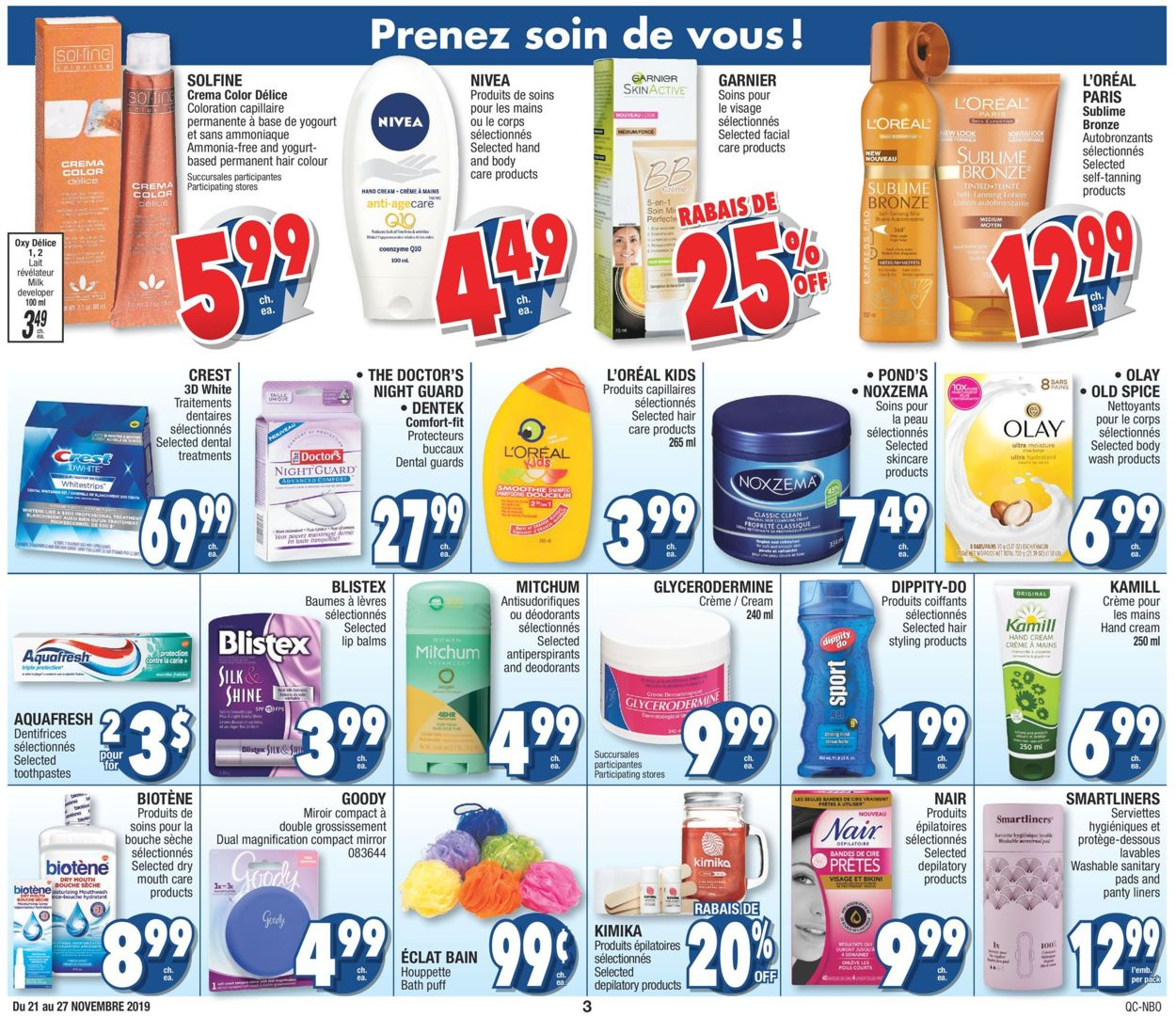 Jean Coutu Flyer - 11/21-11/27/2019 (Page 3)