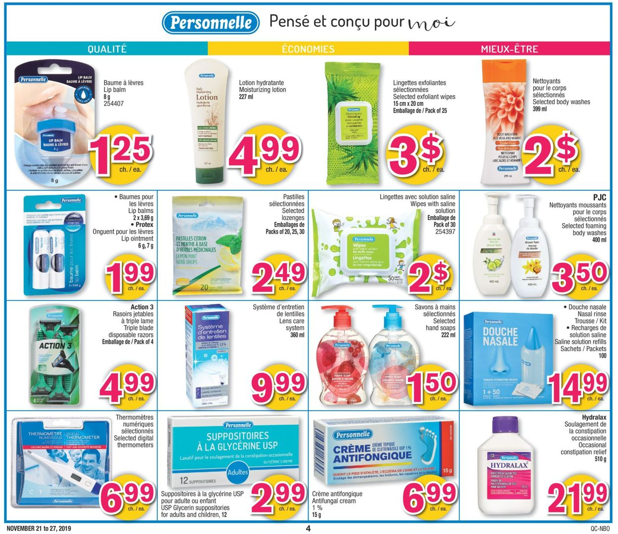 Jean Coutu Flyer - 11/21-11/27/2019 (Page 4)