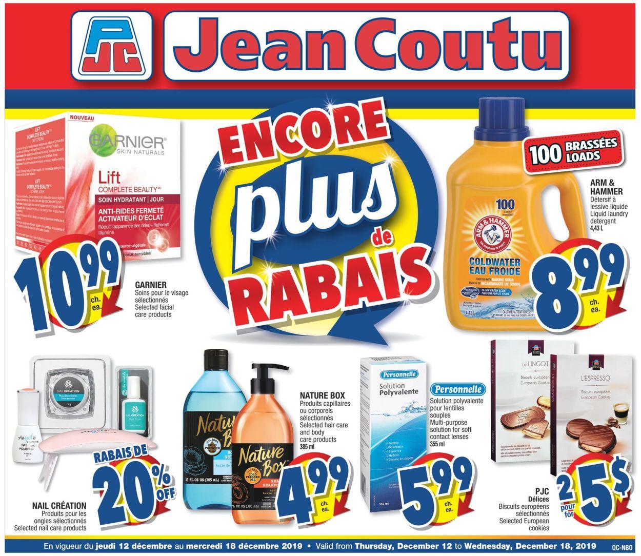 Jean Coutu Flyer - 12/12-12/18/2019