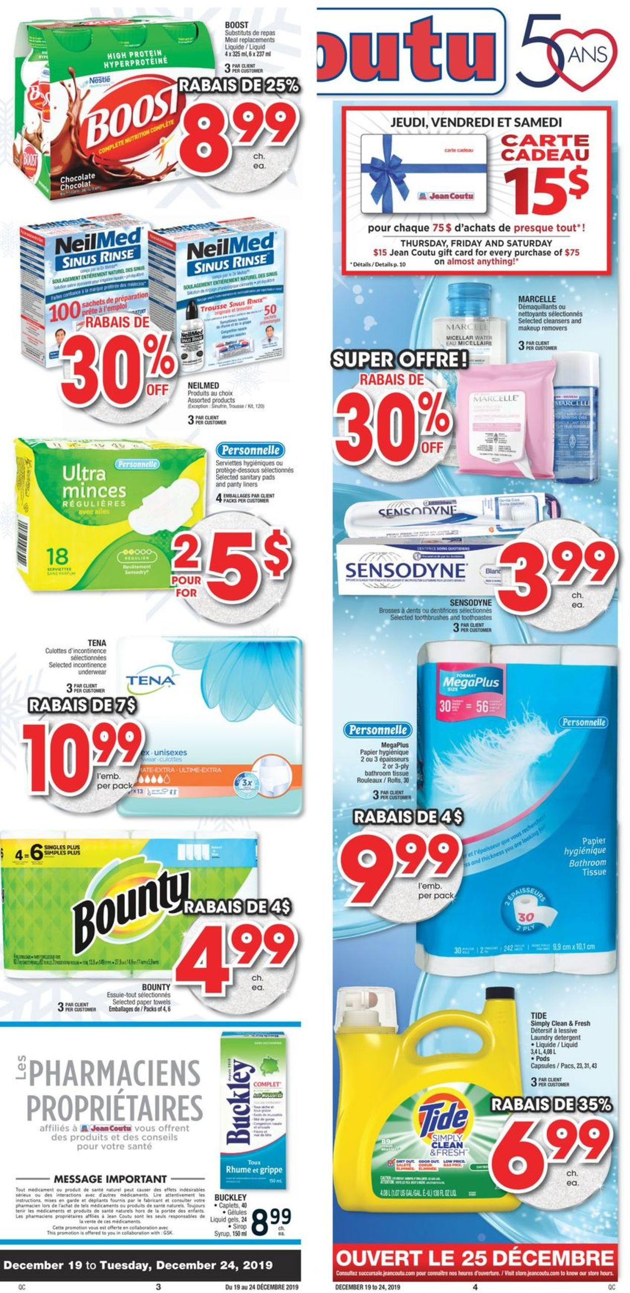 Jean Coutu Flyer - 12/19-12/24/2019 (Page 4)