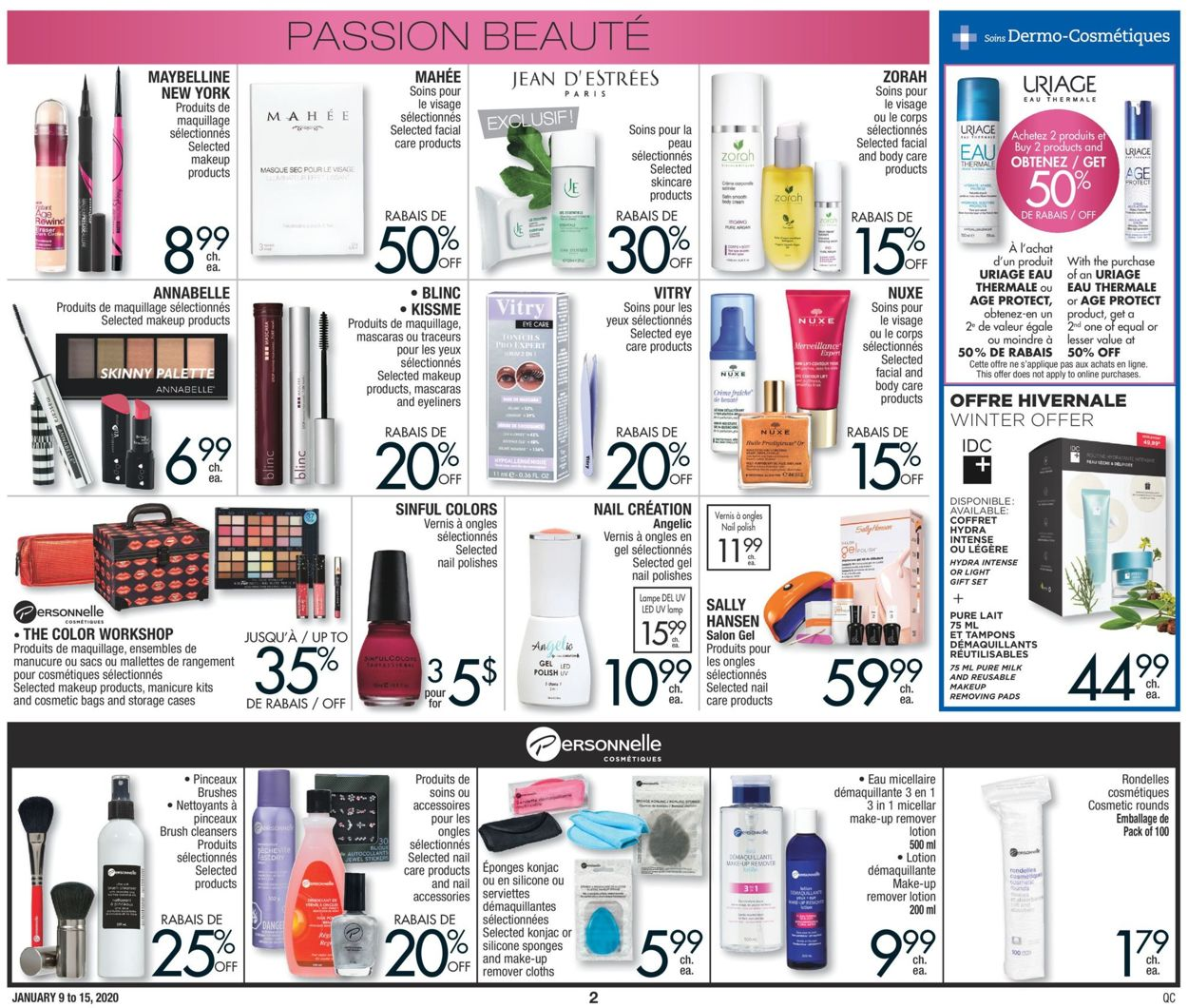 Jean Coutu Flyer - 01/09-01/15/2020 (Page 2)
