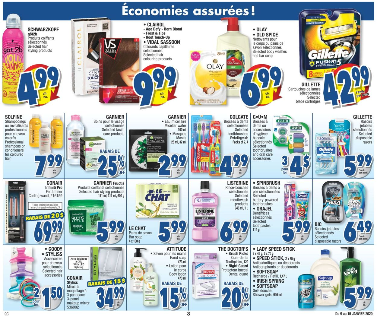 Jean Coutu Flyer - 01/09-01/15/2020 (Page 3)