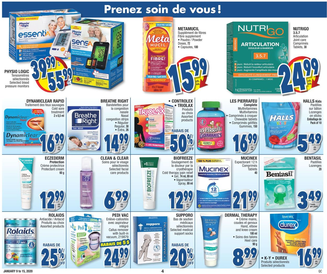 Jean Coutu Flyer - 01/09-01/15/2020 (Page 4)