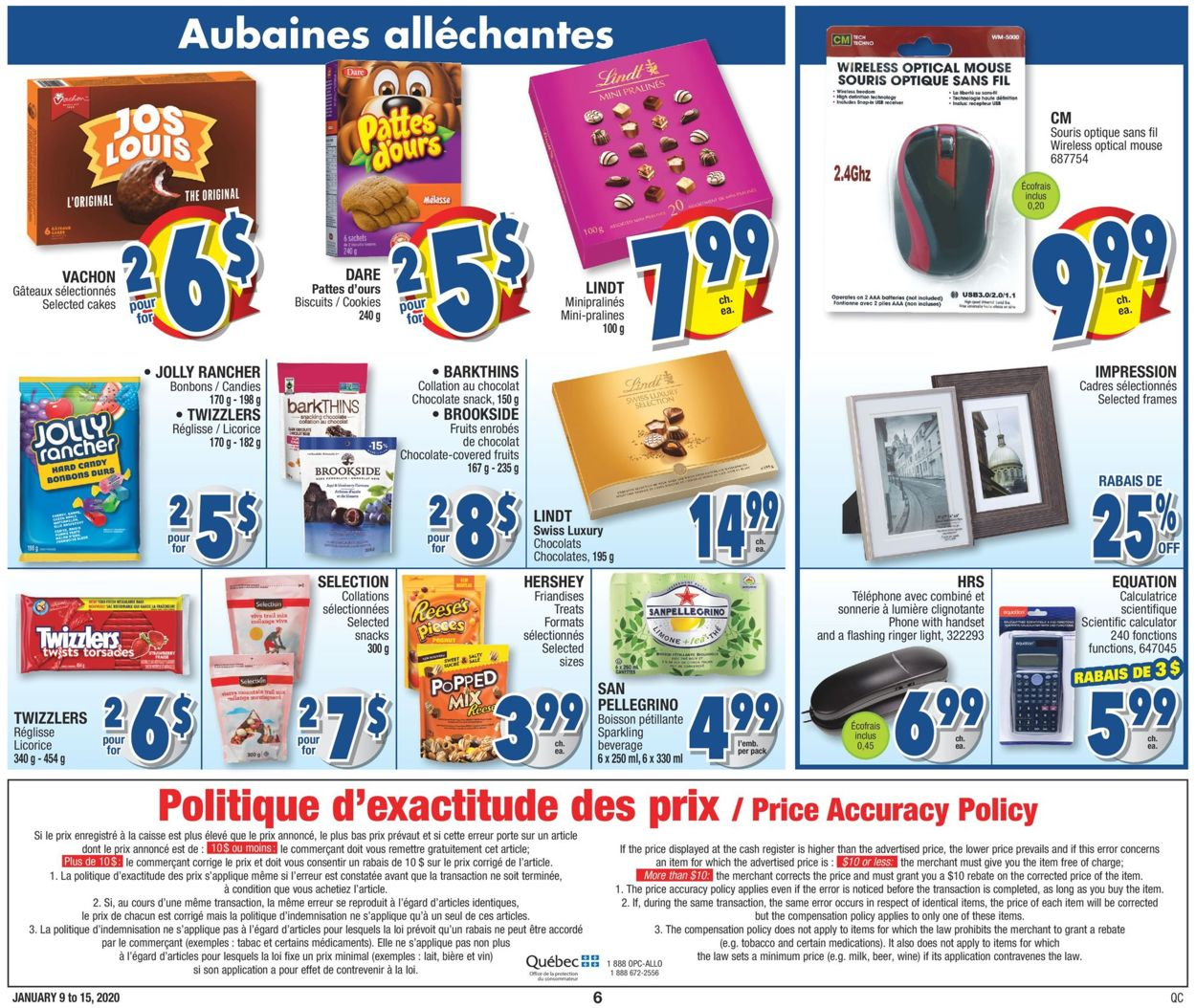 Jean Coutu Flyer - 01/09-01/15/2020 (Page 6)