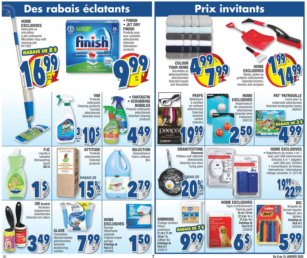 Jean Coutu Flyer - 01/09-01/15/2020 (Page 7)