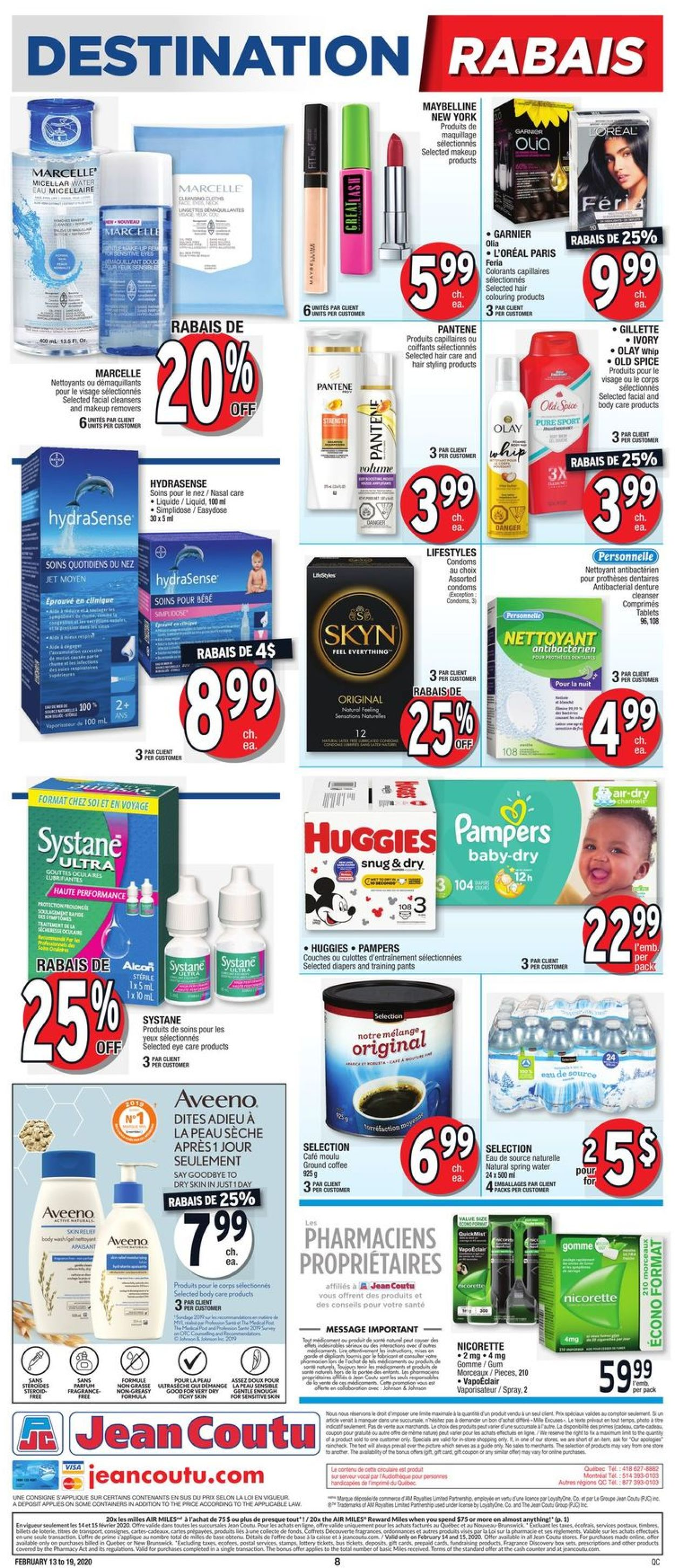 Jean Coutu Flyer - 02/13-02/19/2020 (Page 6)