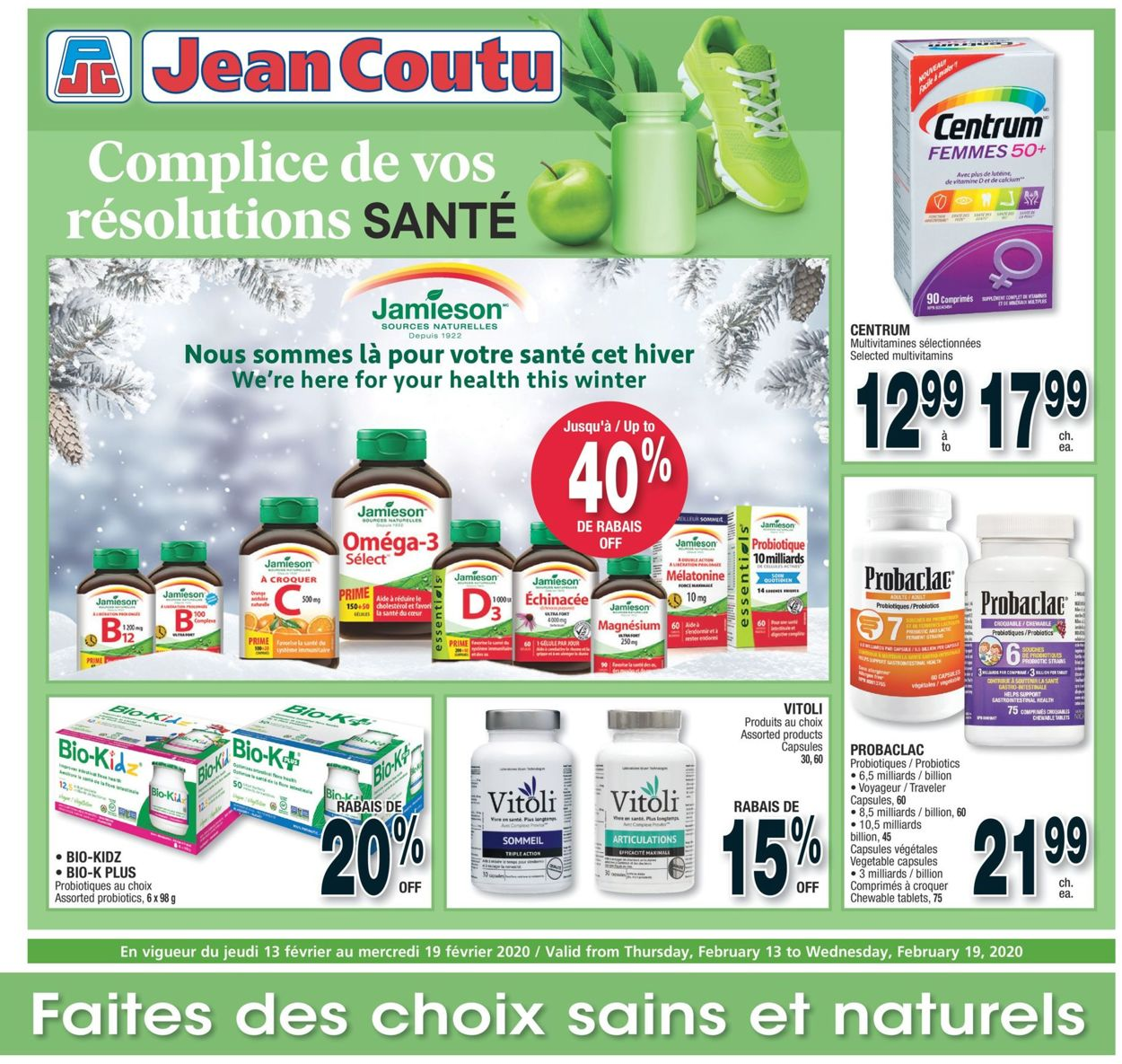Jean Coutu Flyer - 02/13-02/19/2020