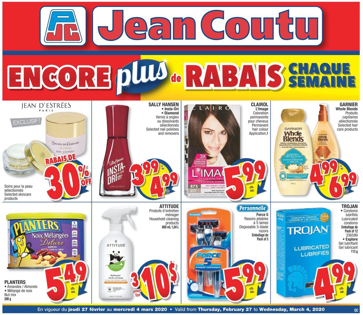 Jean Coutu Flyer - 02/27-03/04/2020