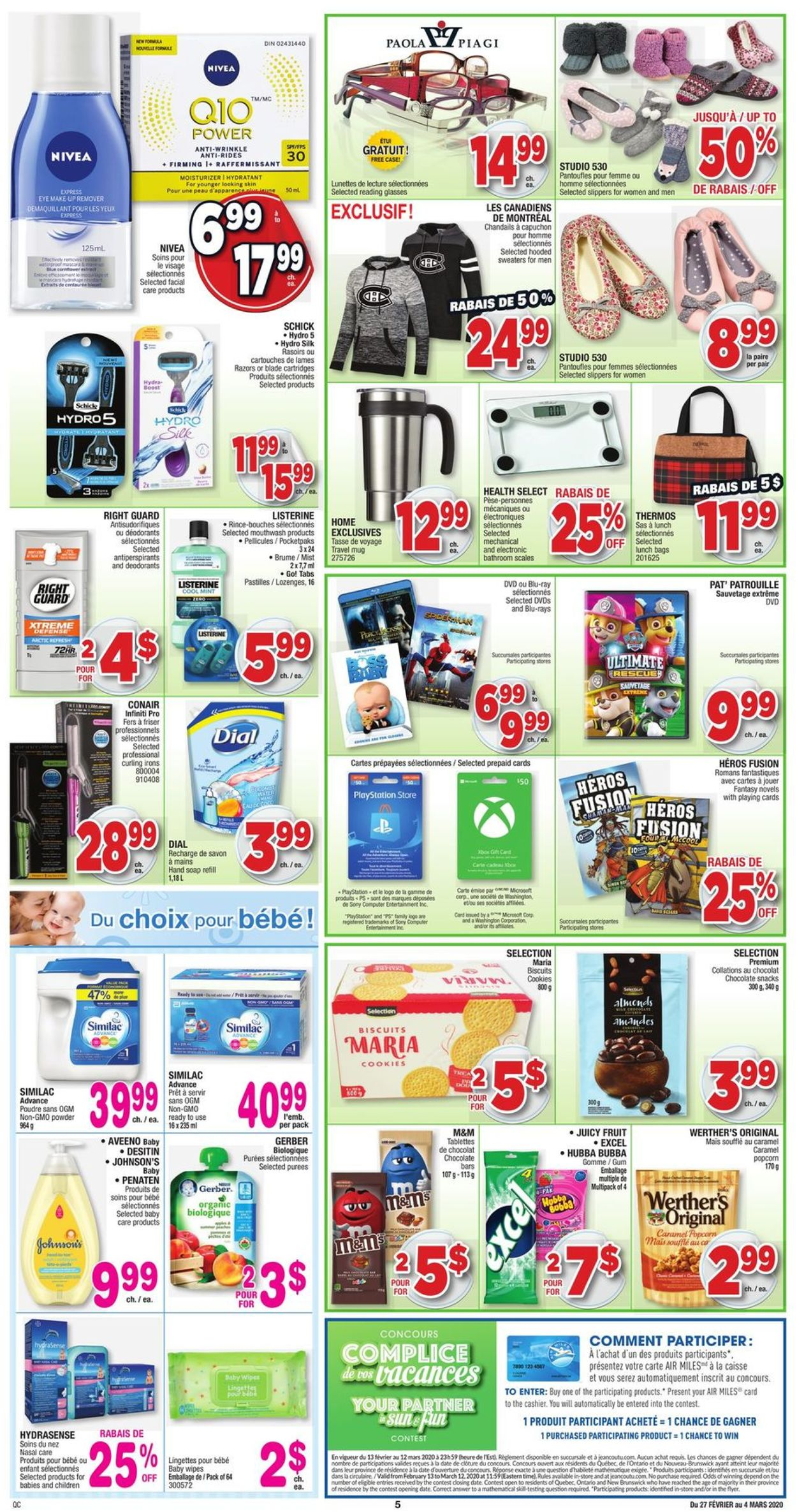 Jean Coutu Flyer - 02/27-03/04/2020 (Page 4)