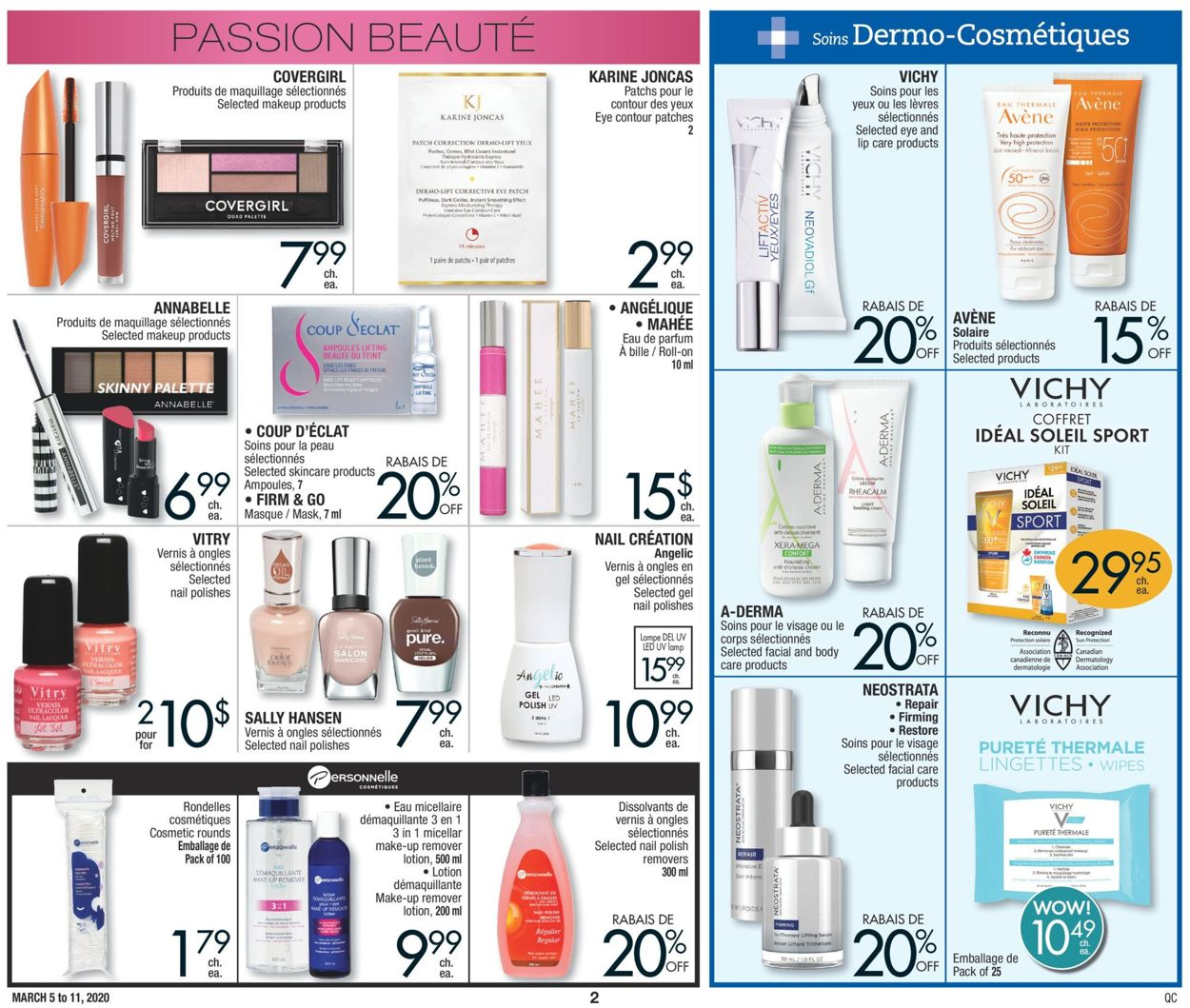 Jean Coutu Flyer - 03/05-03/11/2020 (Page 2)