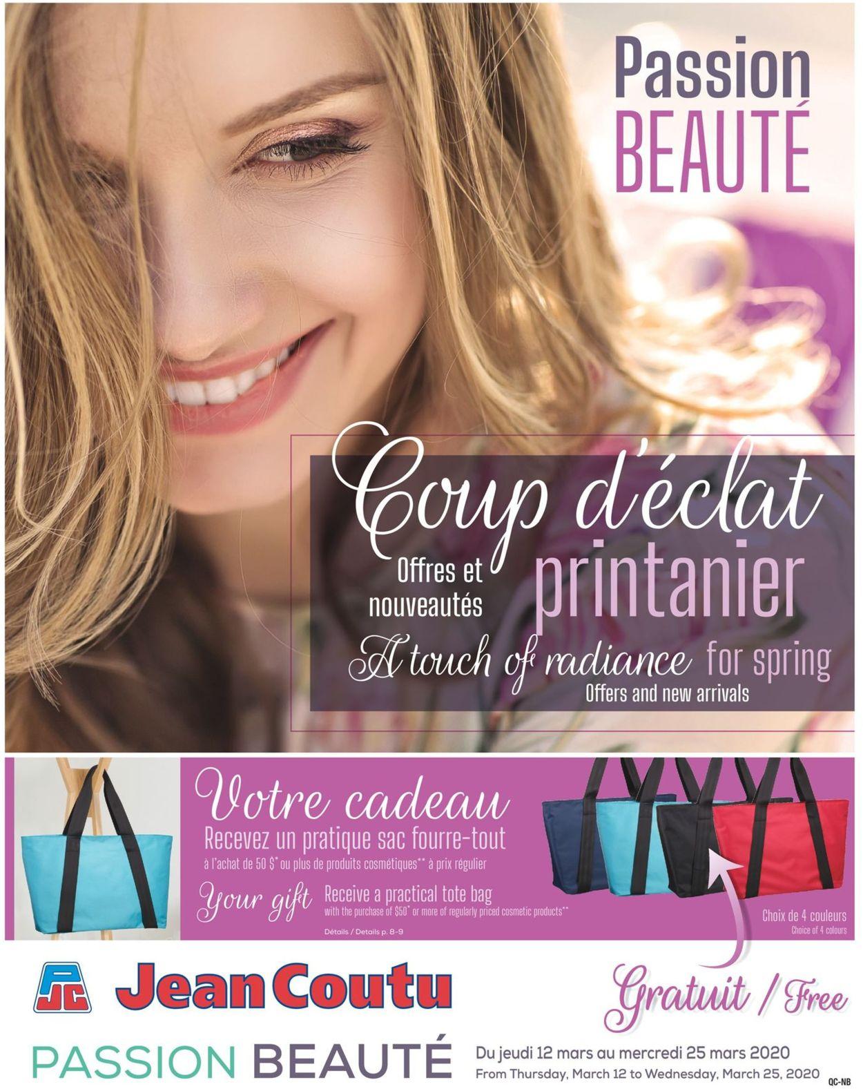 Jean Coutu Flyer - 03/12-03/25/2020