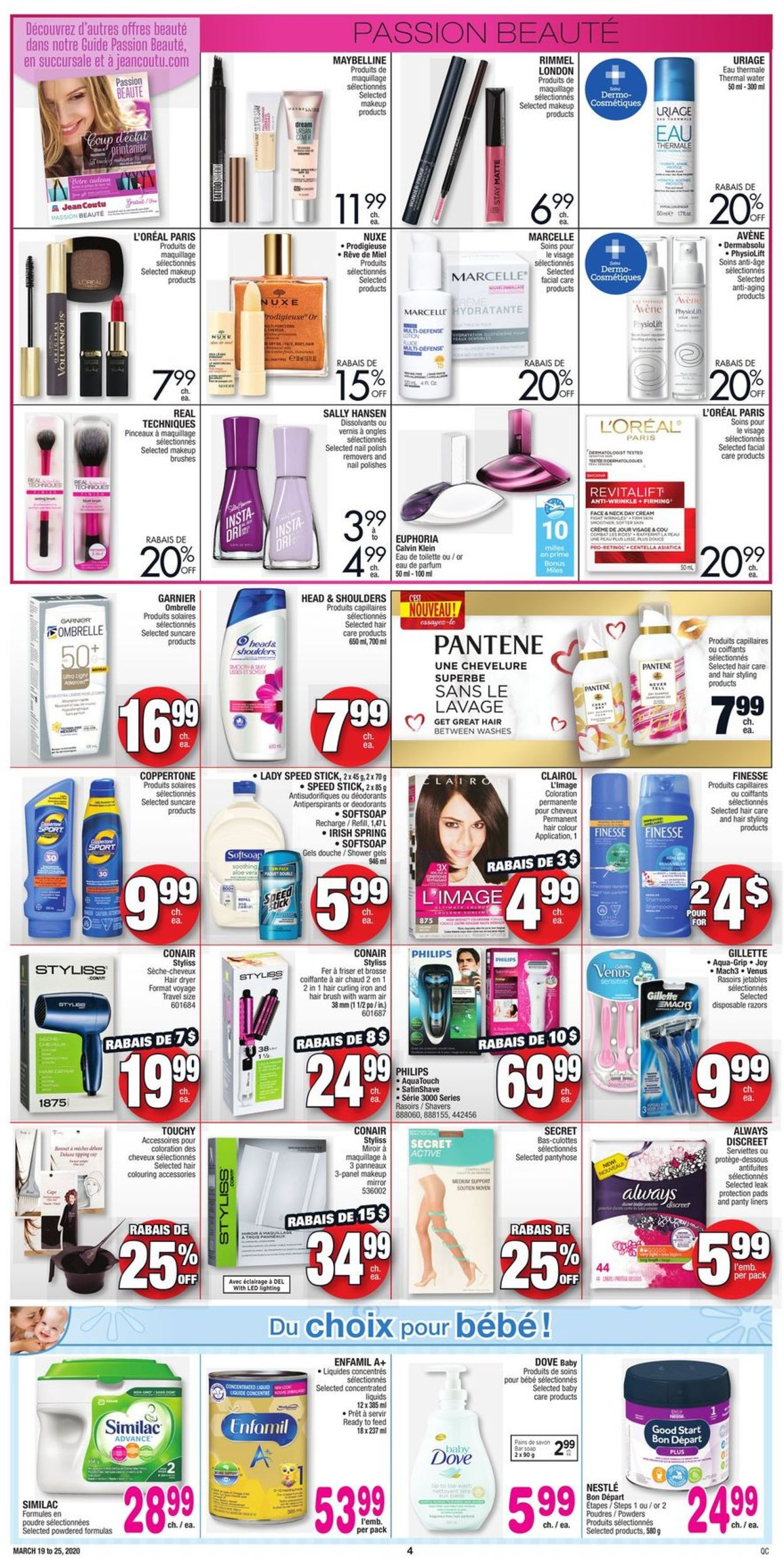 Jean Coutu Flyer - 03/19-03/25/2020 (Page 3)