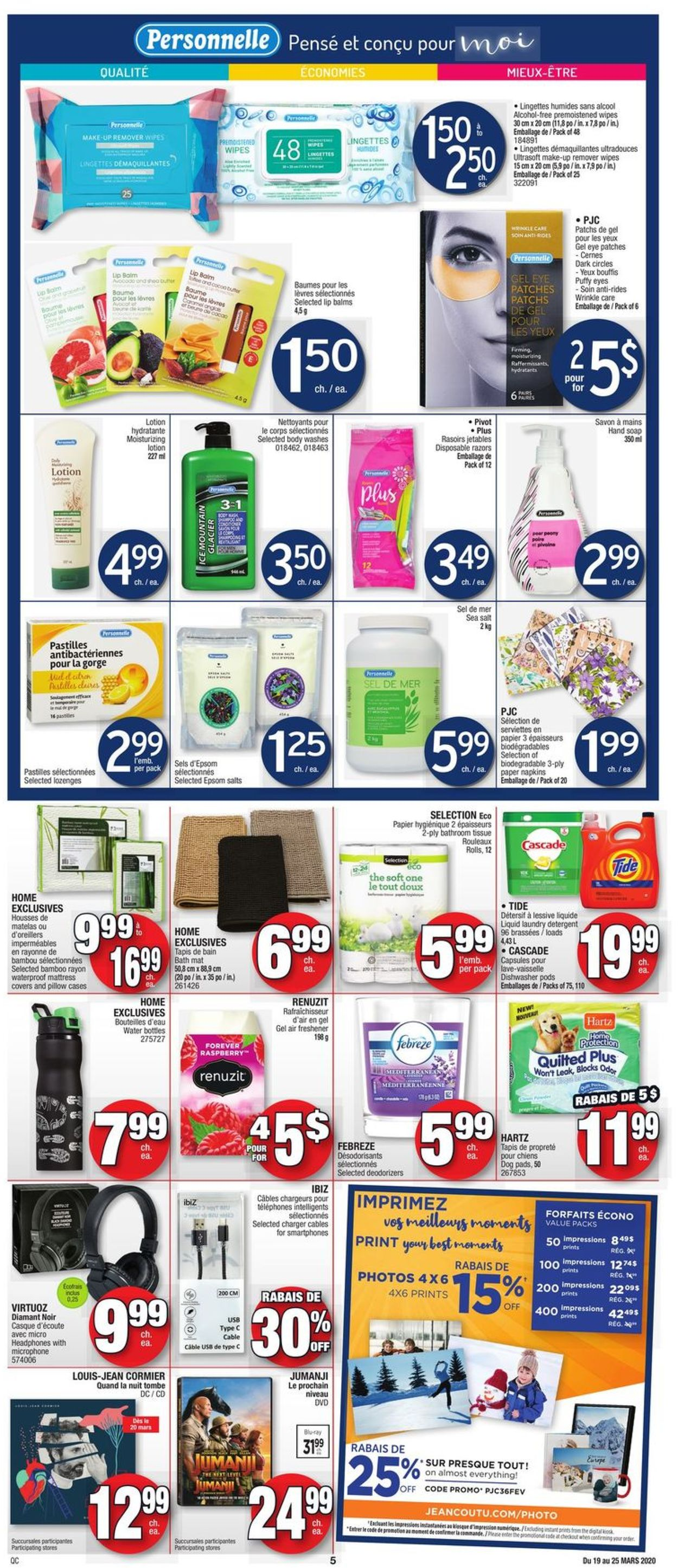 Jean Coutu Flyer - 03/19-03/25/2020 (Page 4)