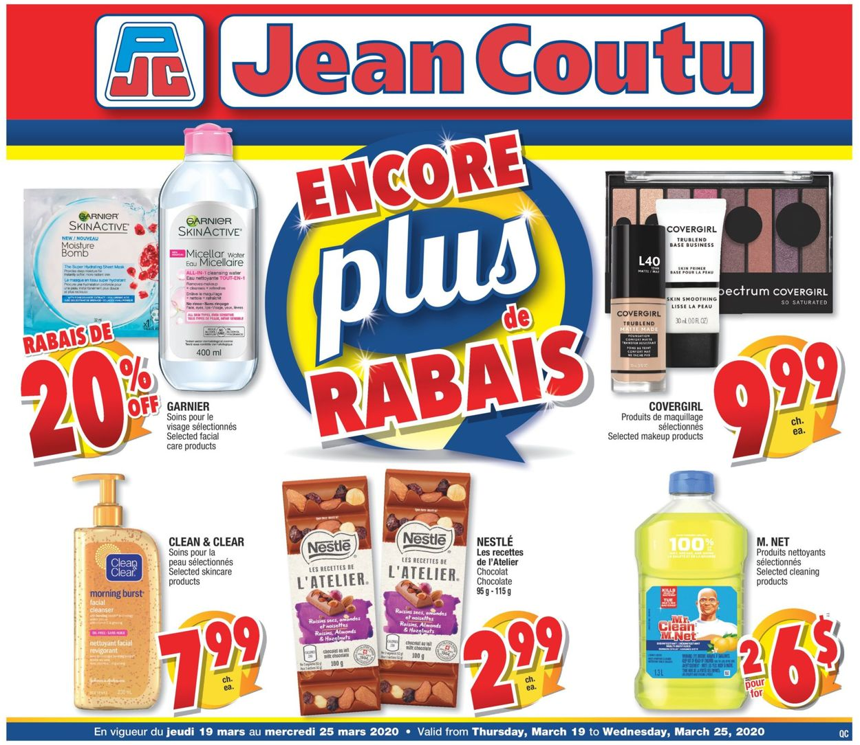 Jean Coutu Flyer - 03/19-03/25/2020