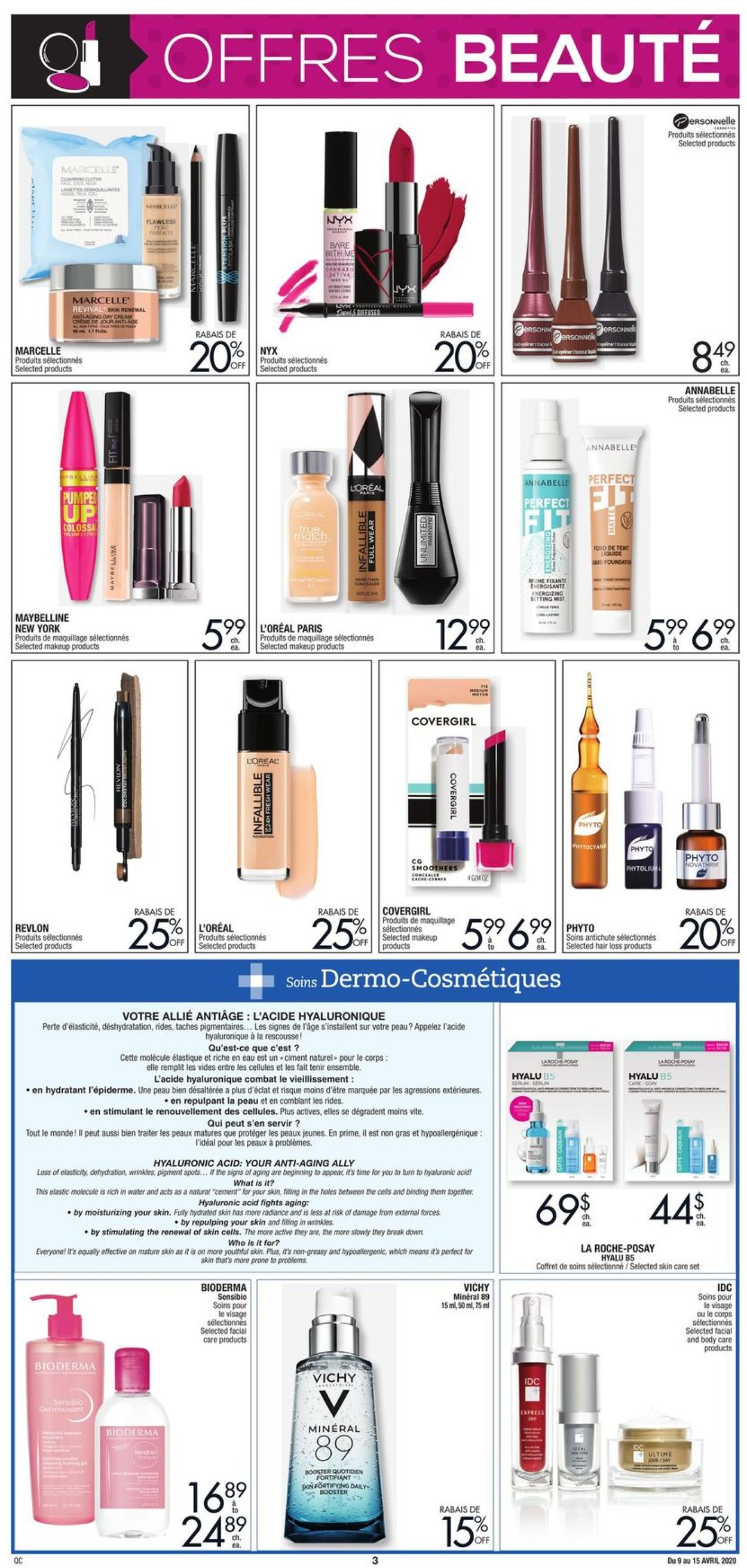 Jean Coutu Flyer - 04/09-04/15/2020 (Page 3)
