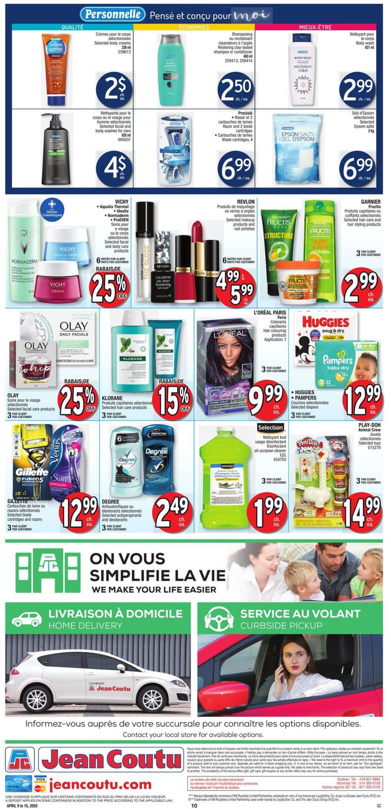 Jean Coutu Flyer - 04/09-04/15/2020 (Page 10)