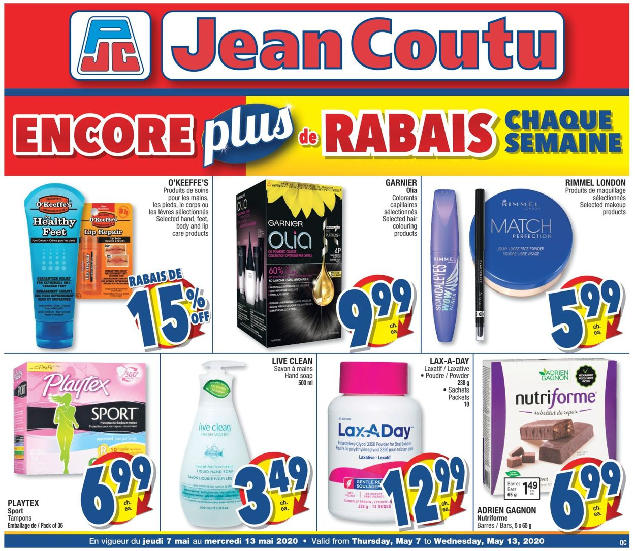 Jean Coutu Flyer - 05/07-05/13/2020