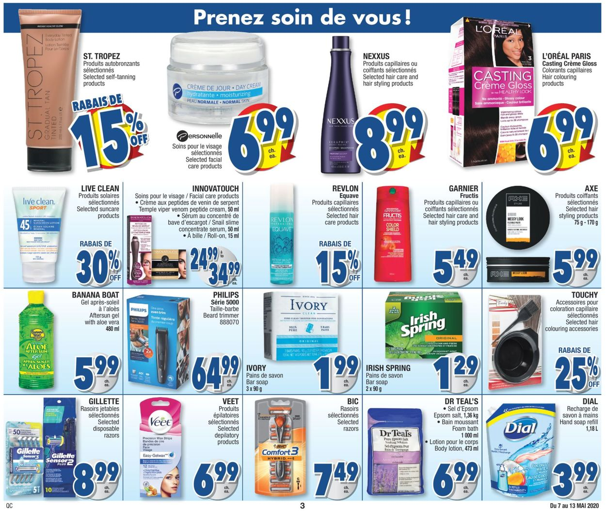 Jean Coutu Flyer - 05/07-05/13/2020 (Page 3)