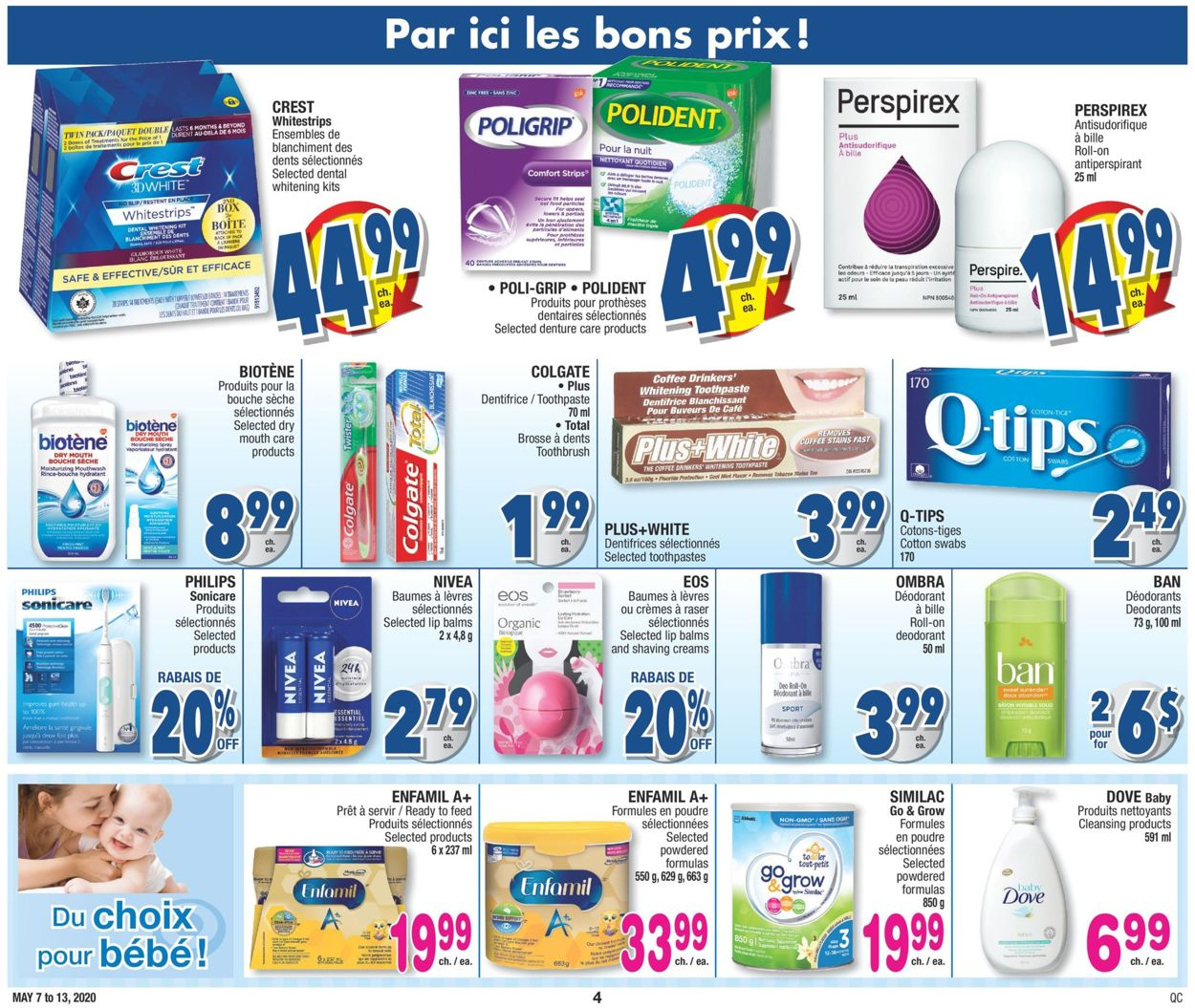 Jean Coutu Flyer - 05/07-05/13/2020 (Page 4)