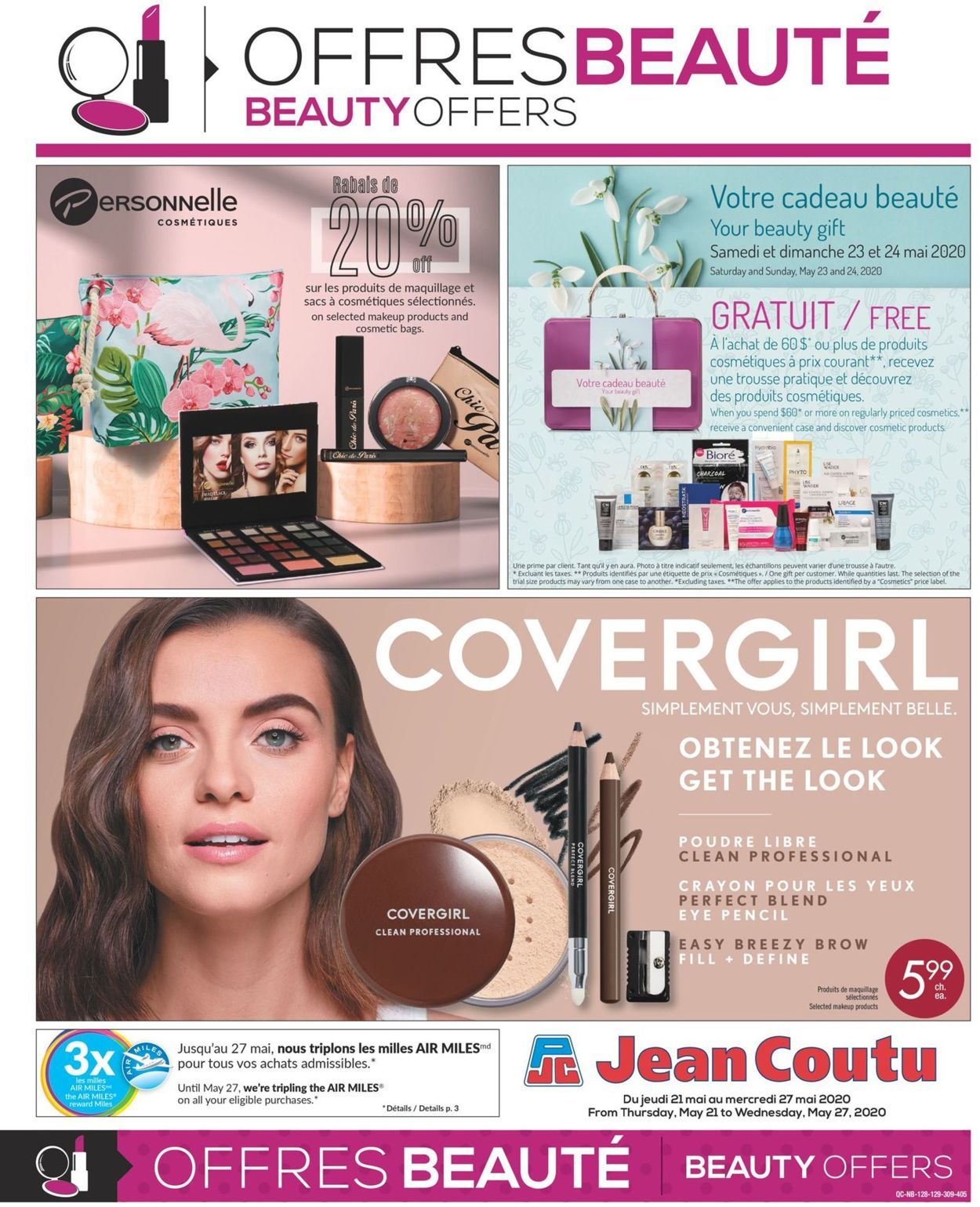 Jean Coutu Flyer - 05/21-05/27/2020