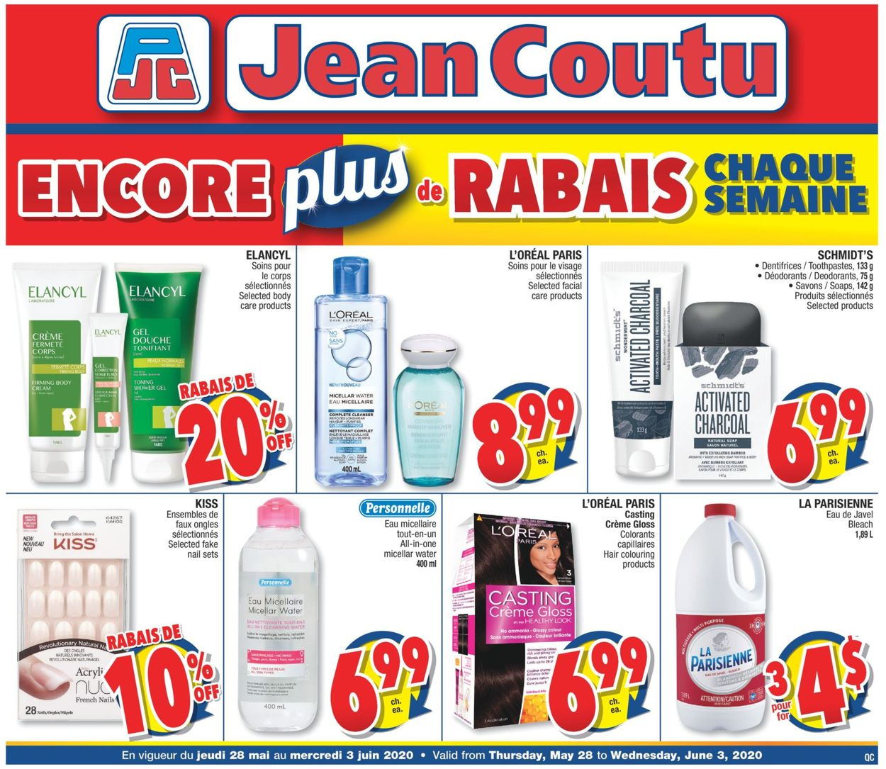 Jean Coutu Flyer - 05/28-06/03/2020