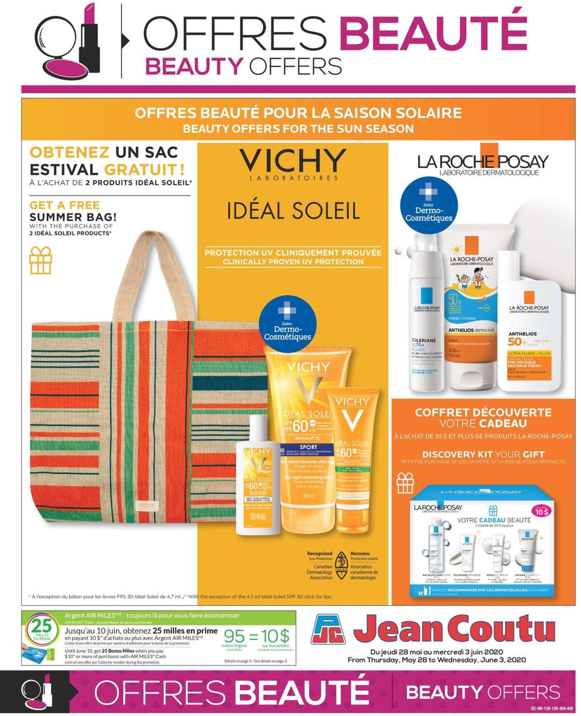 Jean Coutu Flyer - 05/28-06/03/2020