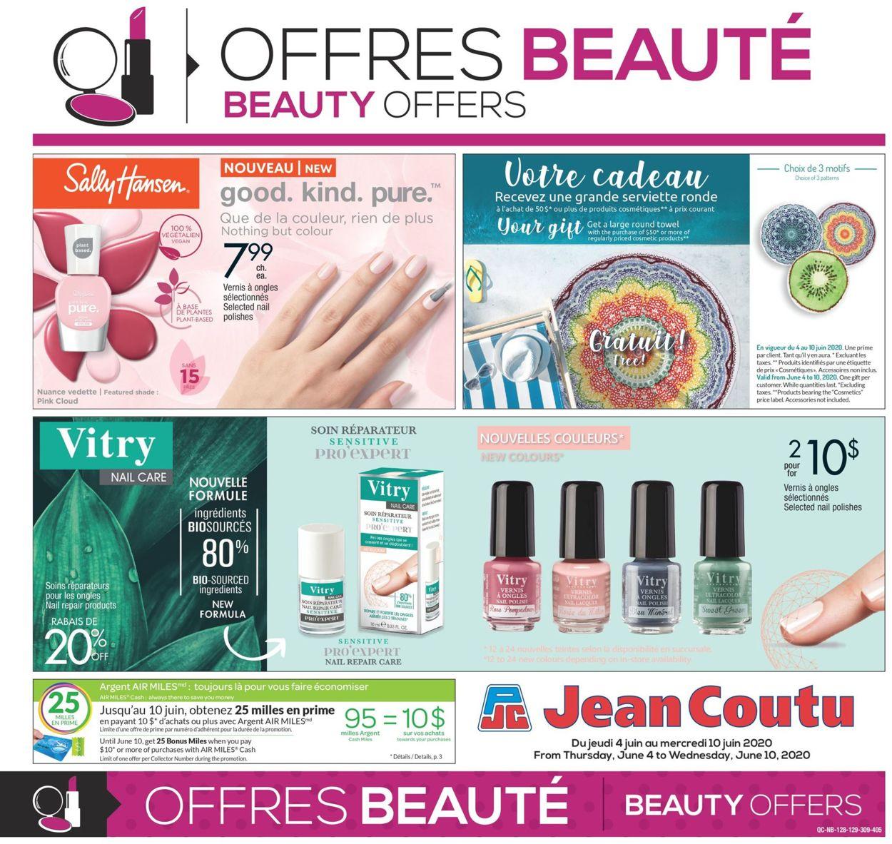 Jean Coutu Flyer - 06/04-06/10/2020