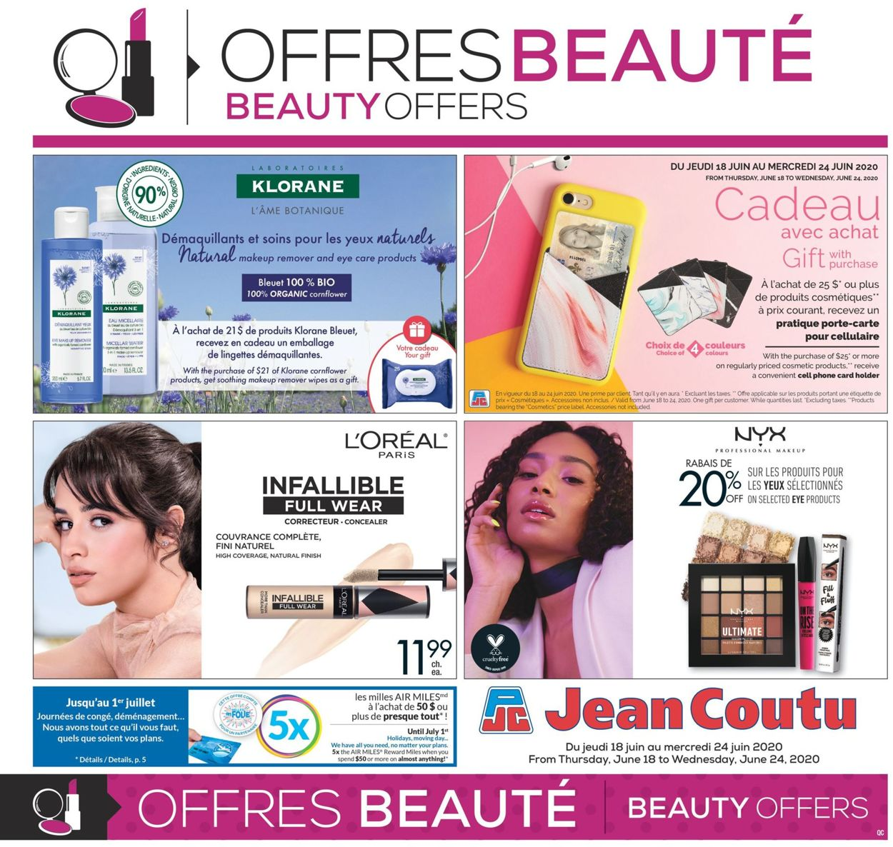 Jean Coutu Flyer - 06/18-06/24/2020