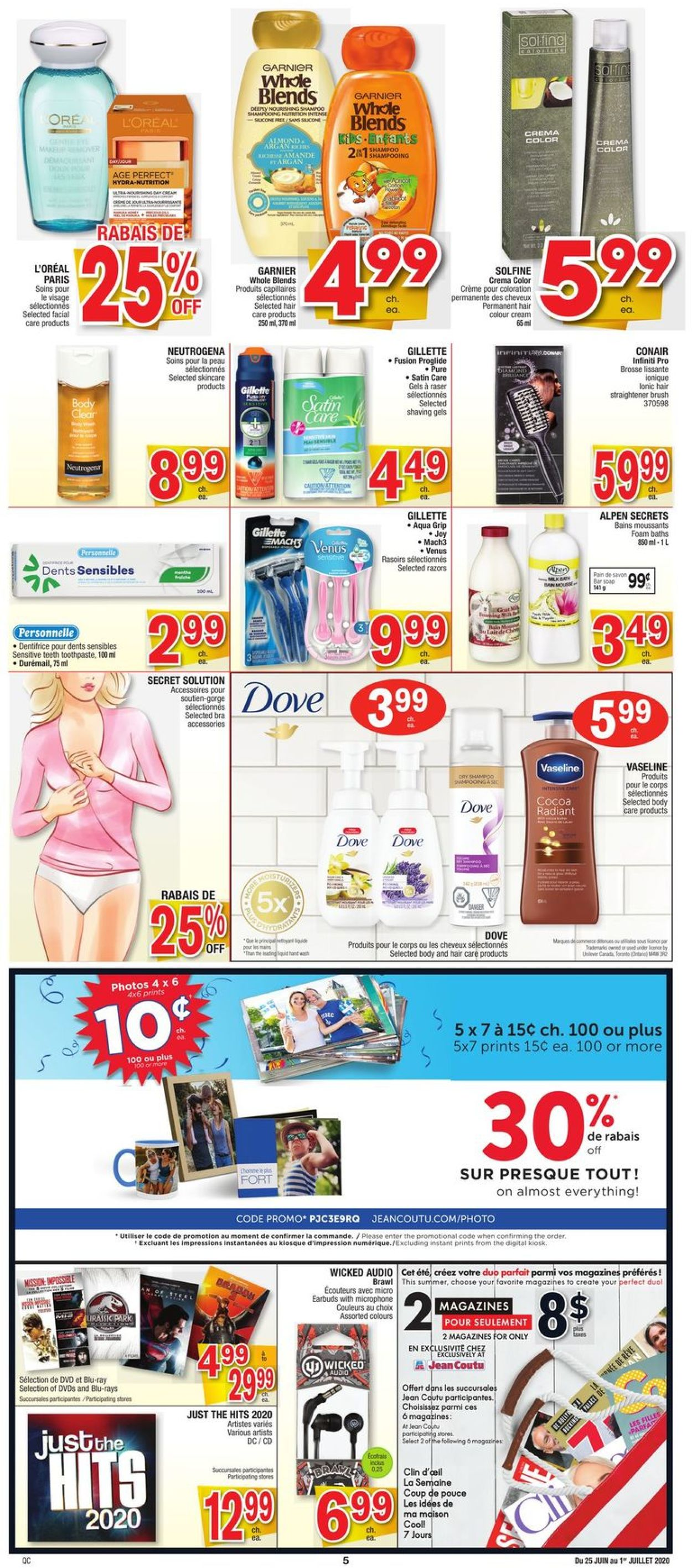 Jean Coutu Flyer - 06/25-07/01/2020 (Page 5)