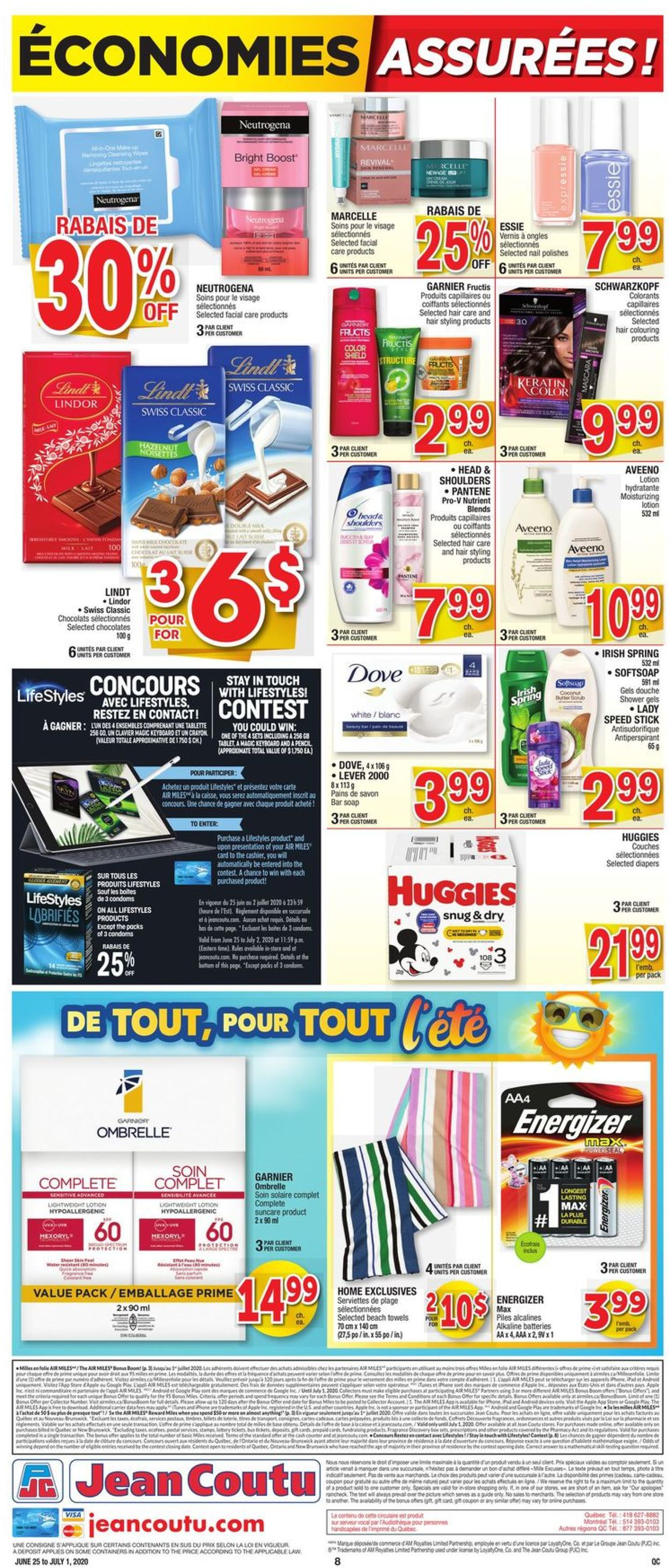 Jean Coutu Flyer - 06/25-07/01/2020 (Page 8)