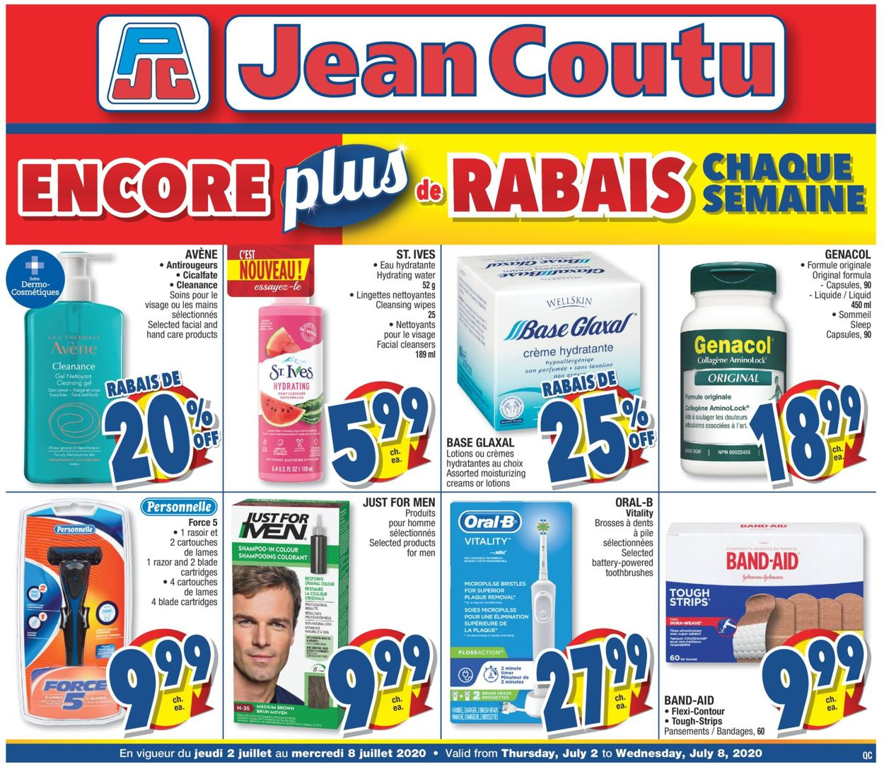 Jean Coutu Flyer - 07/02-07/08/2020