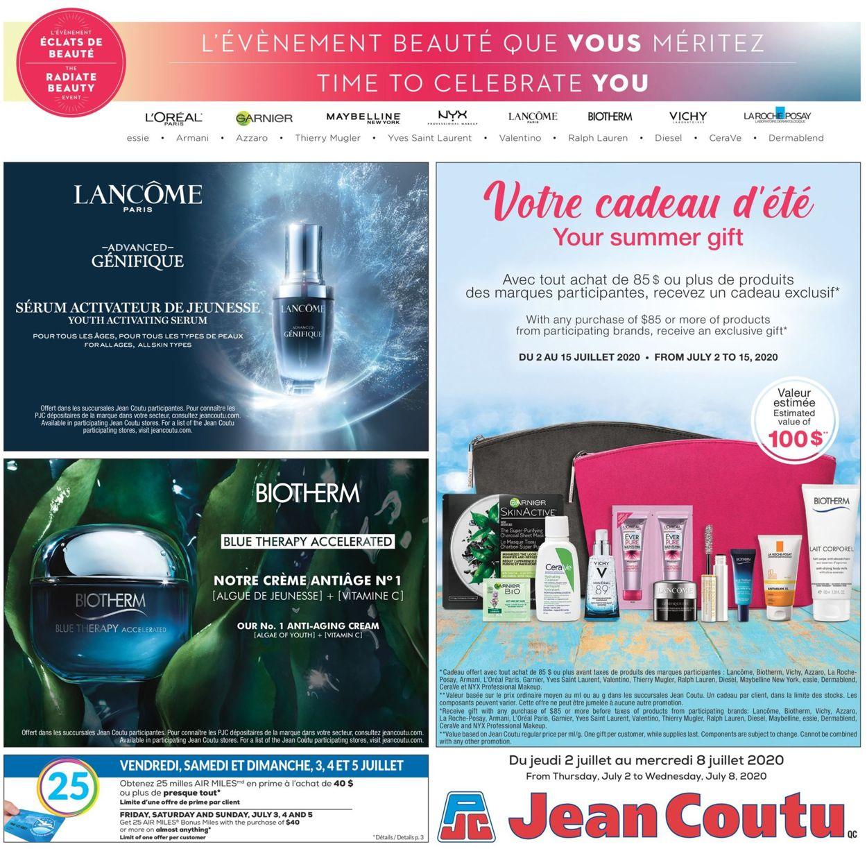 Jean Coutu Flyer - 07/02-07/08/2020