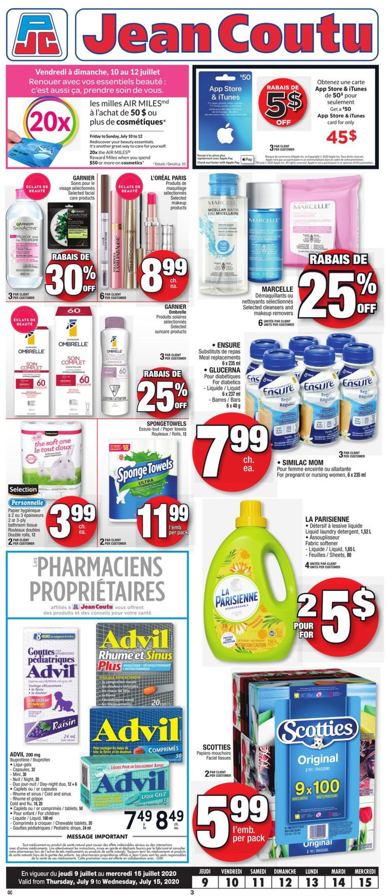 Jean Coutu Flyer - 07/09-07/15/2020 (Page 2)