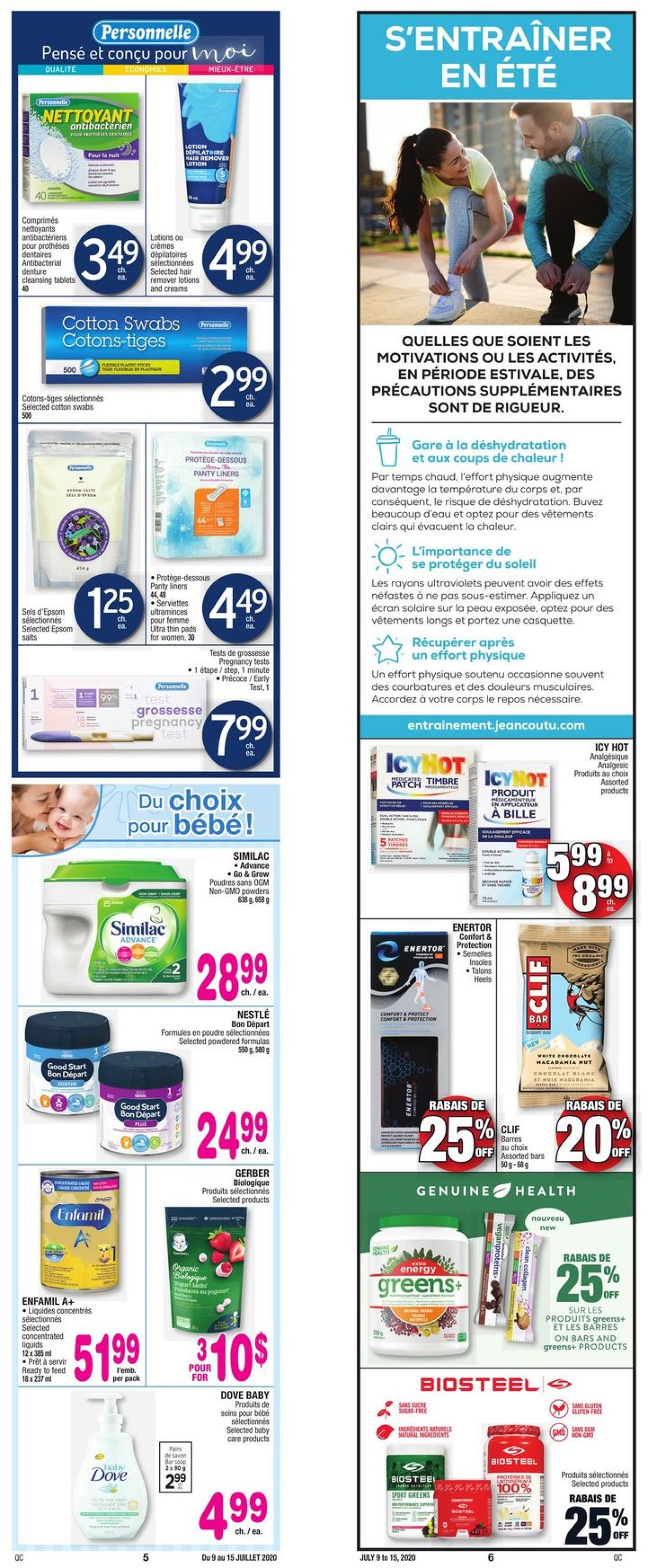 Jean Coutu Flyer - 07/09-07/15/2020 (Page 4)