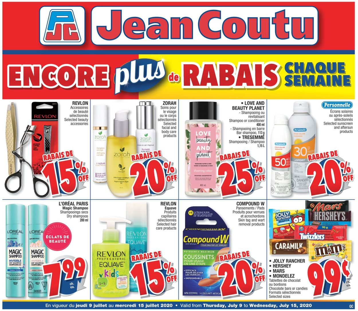 Jean Coutu Flyer - 07/09-07/15/2020