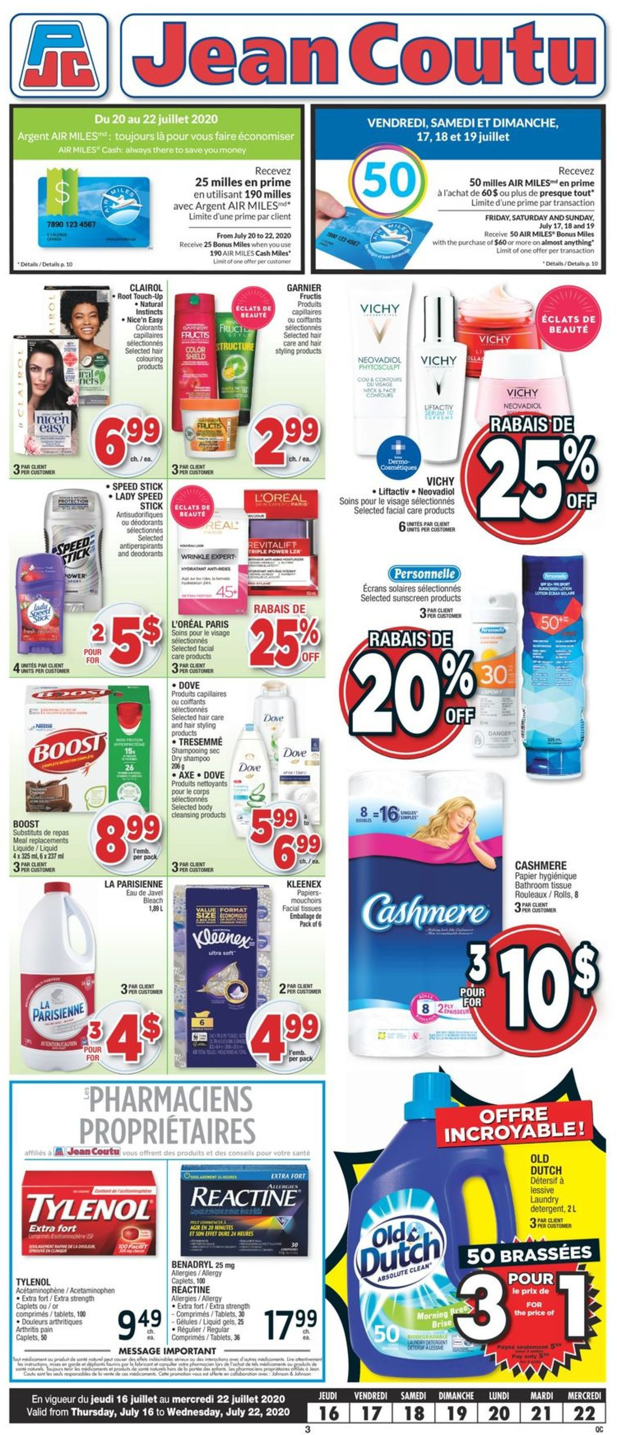 Jean Coutu Flyer - 07/16-07/22/2020 (Page 2)