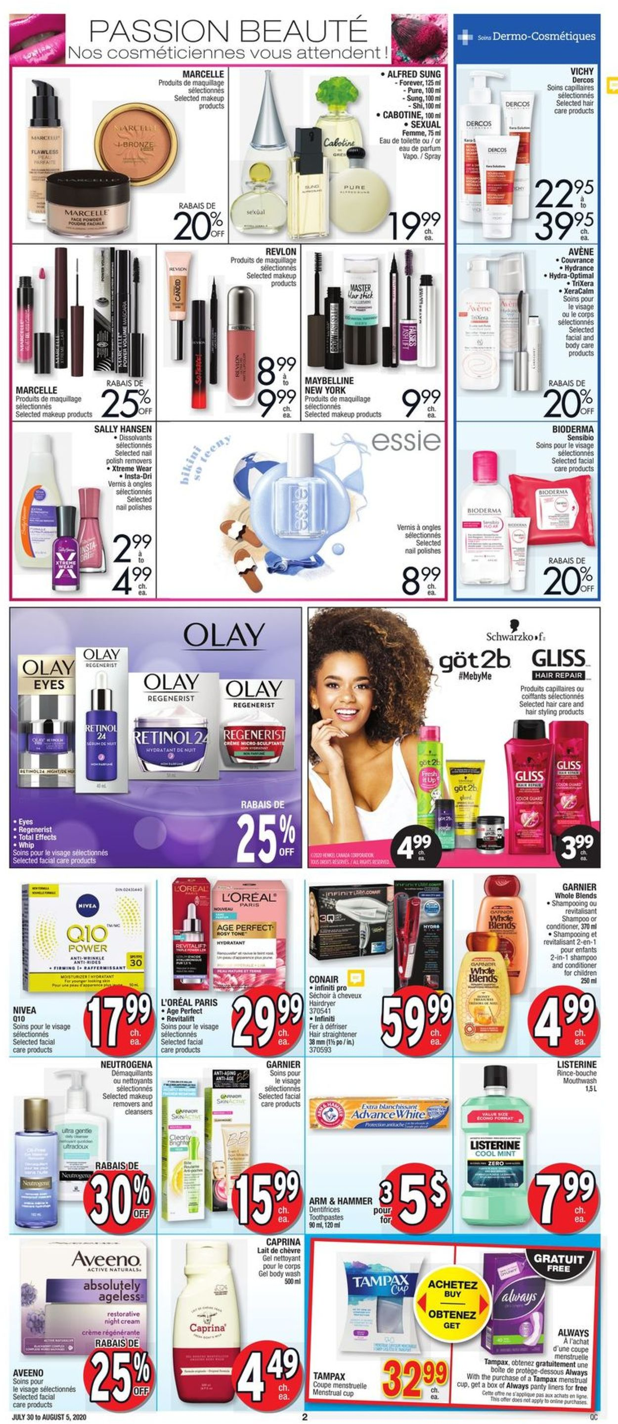 Jean Coutu Flyer - 07/30-08/05/2020 (Page 2)