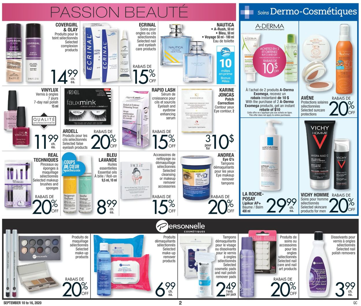 Jean Coutu Flyer - 09/10-09/16/2020 (Page 2)
