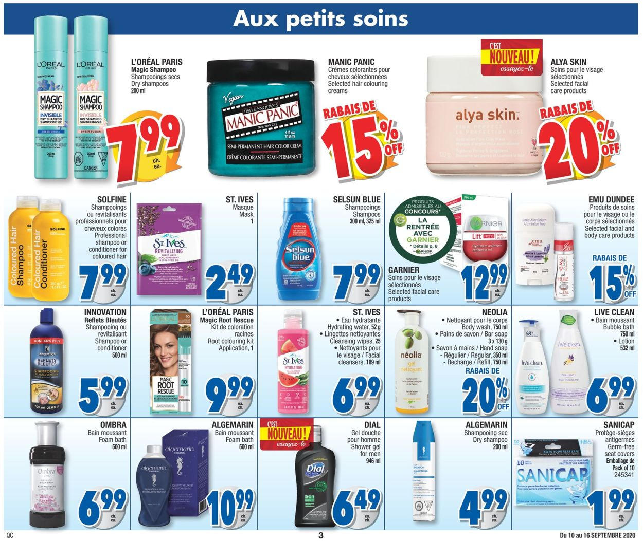 Jean Coutu Flyer - 09/10-09/16/2020 (Page 3)