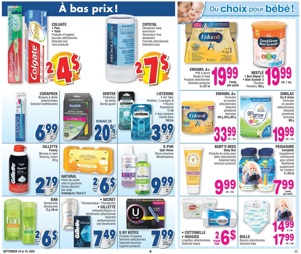 Jean Coutu Flyer - 09/10-09/16/2020 (Page 4)