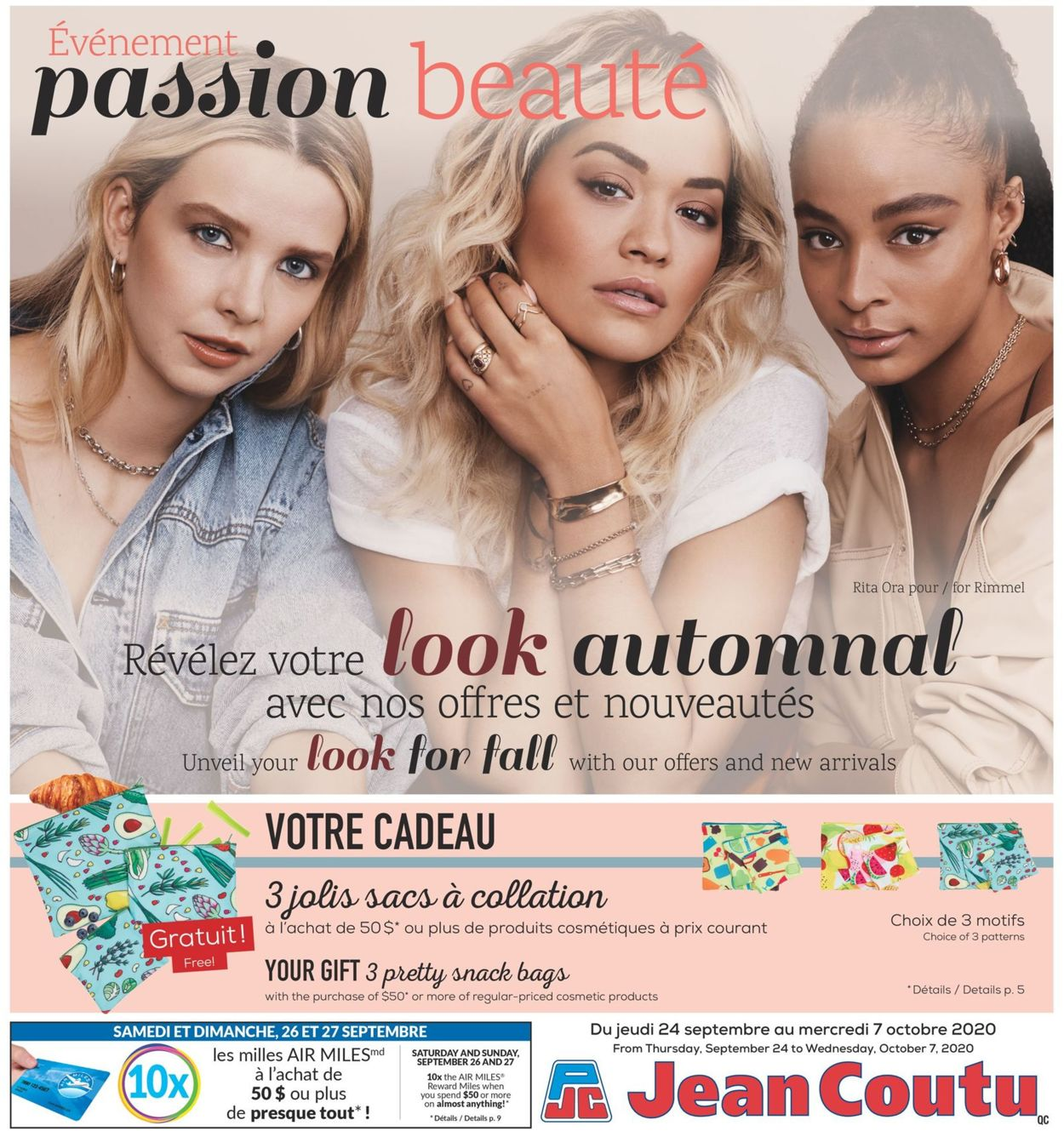 Jean Coutu Flyer - 09/24-10/07/2020