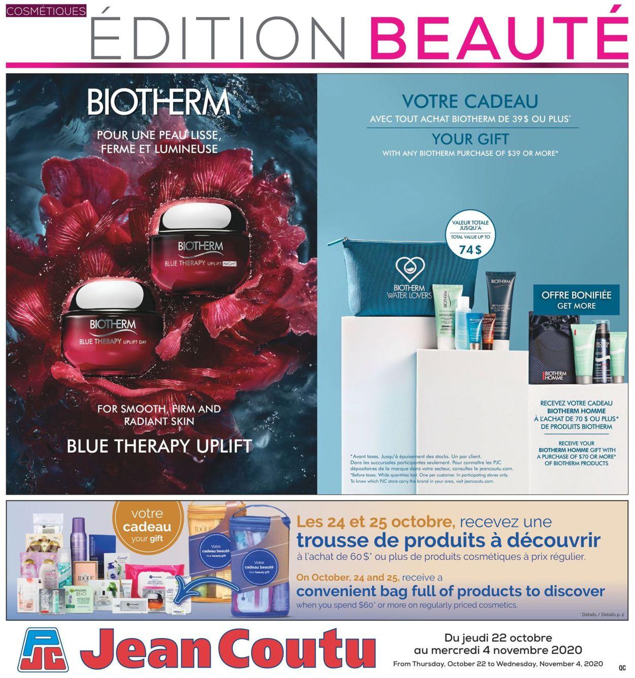 Jean Coutu Flyer - 10/22-11/04/2020