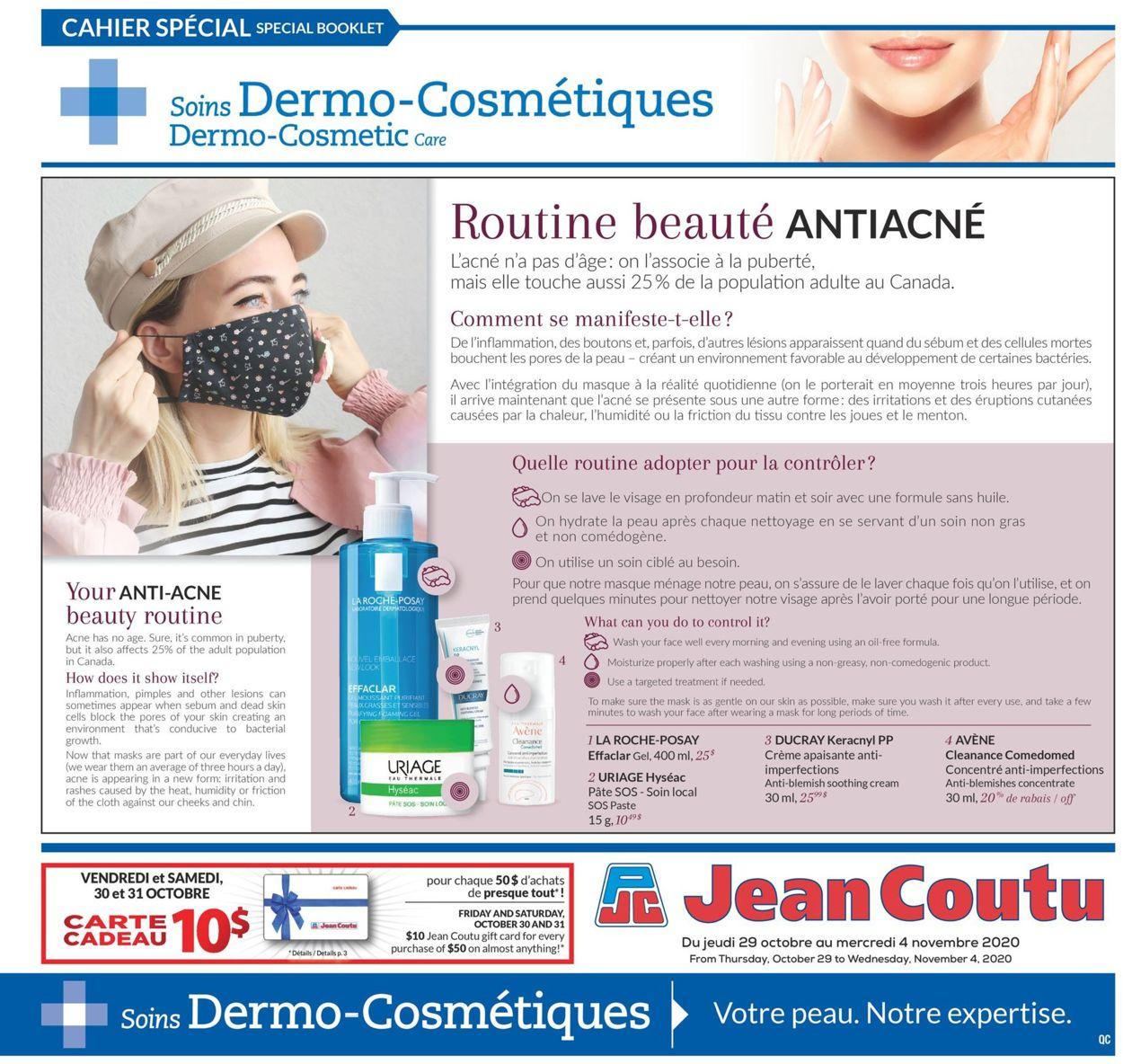 Jean Coutu Flyer - 10/29-11/04/2020