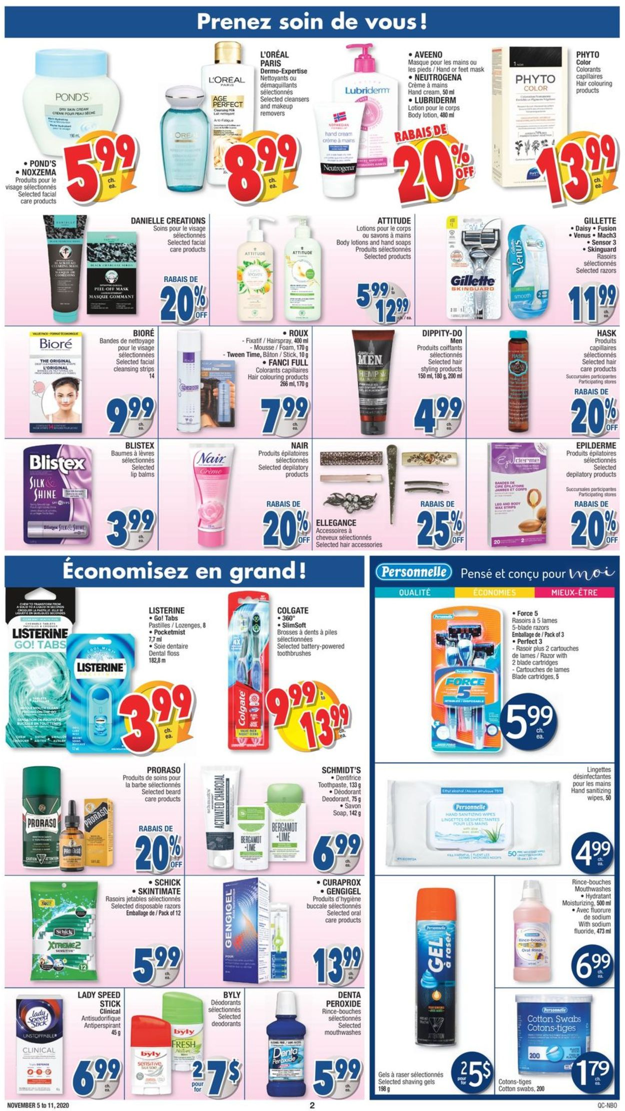 Jean Coutu Flyer - 11/05-11/11/2020 (Page 2)