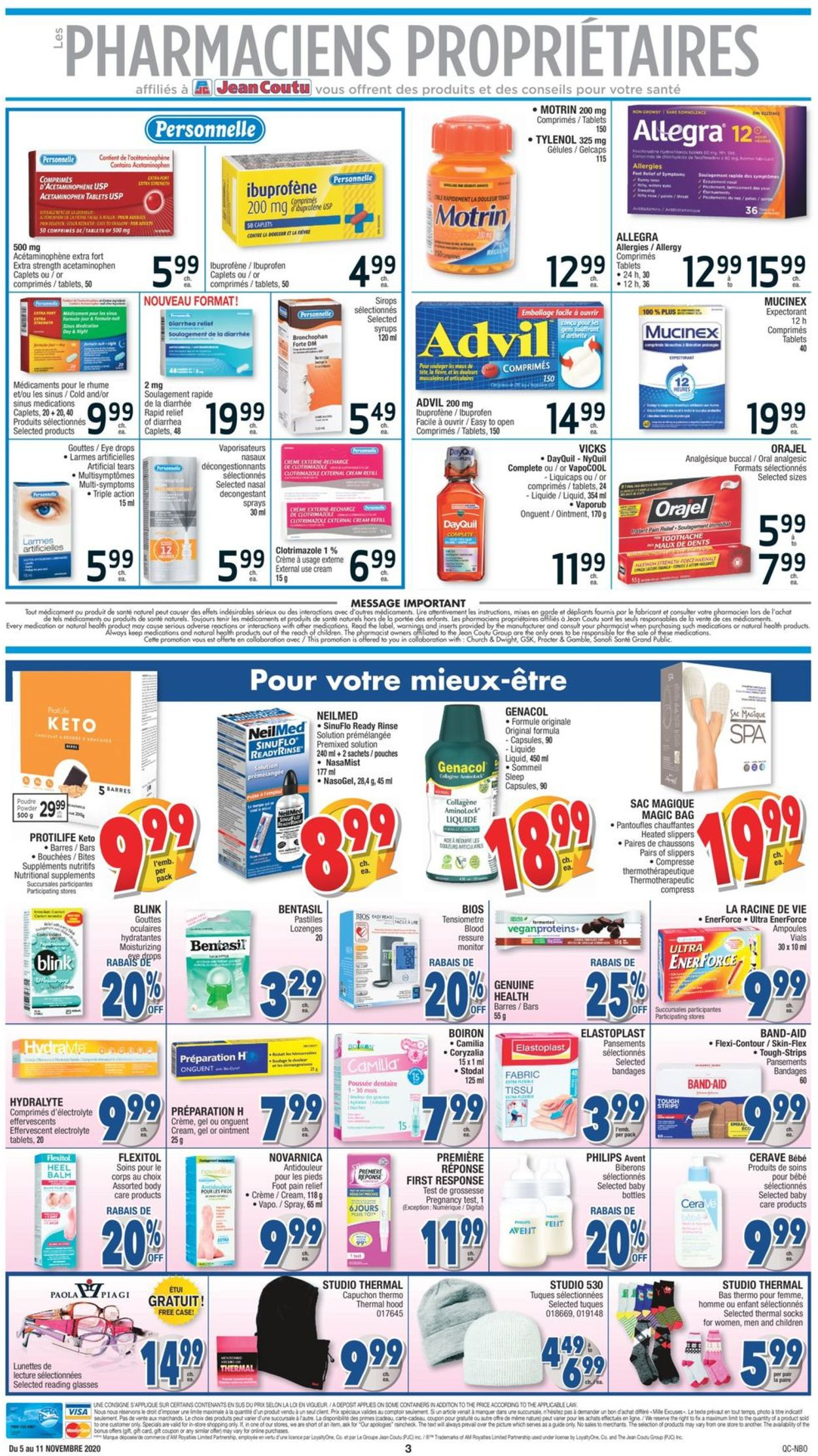 Jean Coutu Flyer - 11/05-11/11/2020 (Page 3)