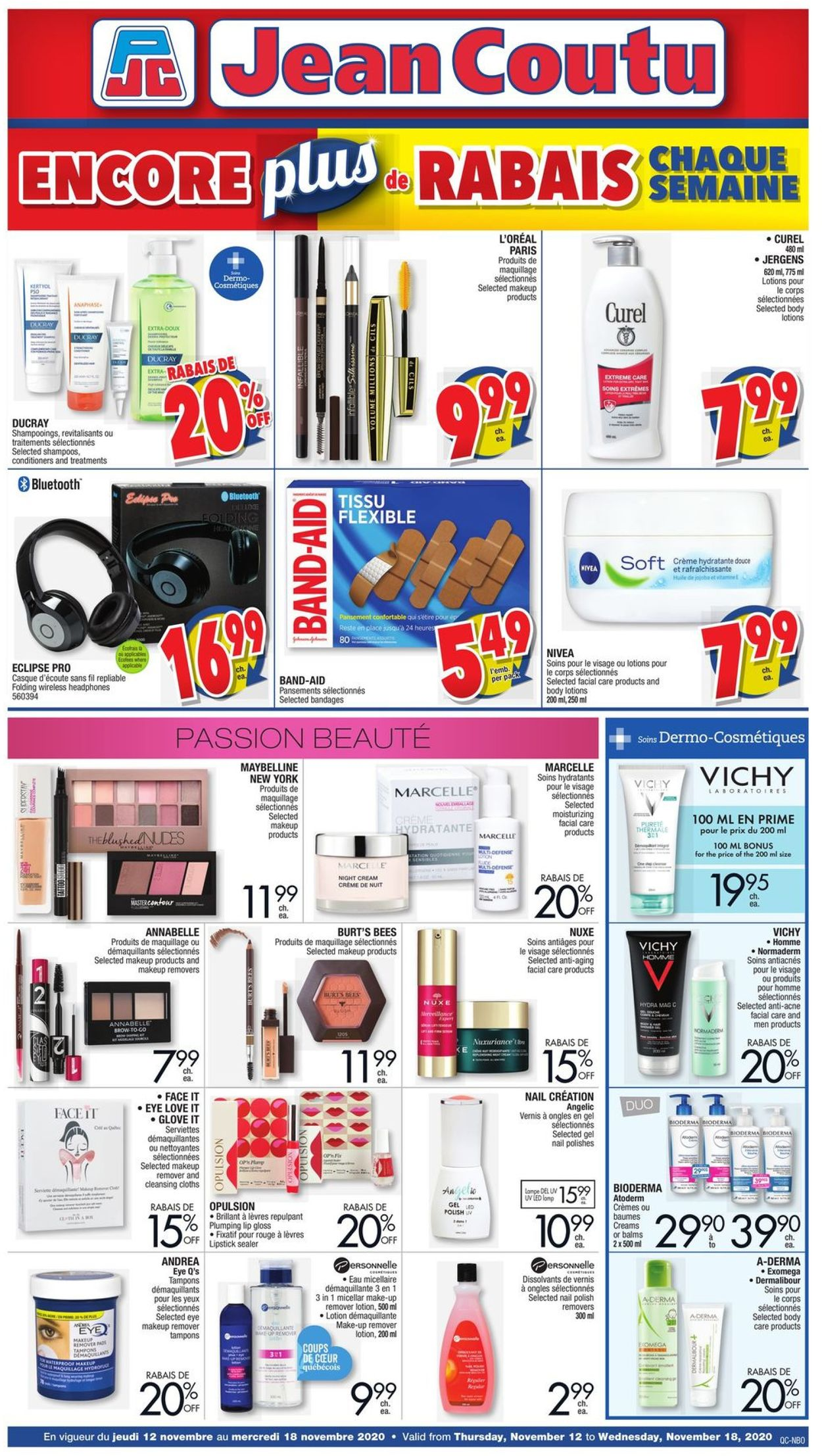 Jean Coutu Flyer - 11/12-11/19/2020