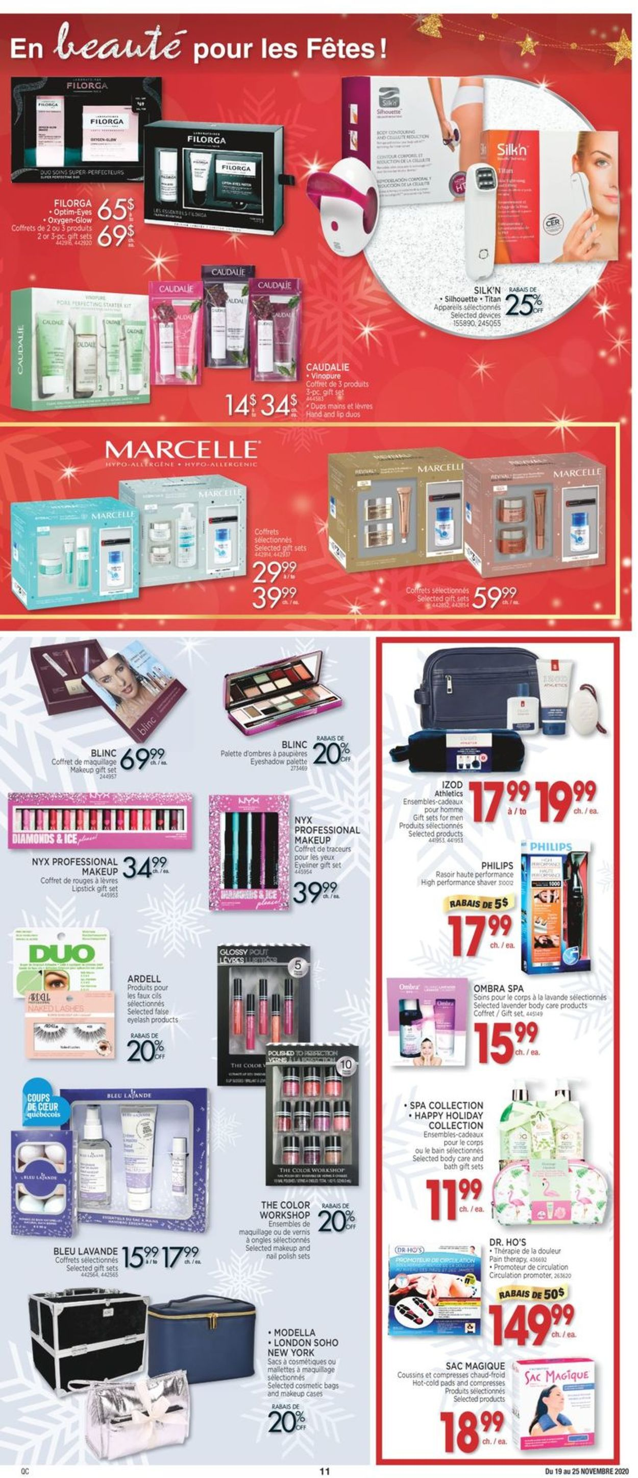 Jean Coutu Christmas 2020 Flyer - 11/19-11/25/2020 (Page 11)