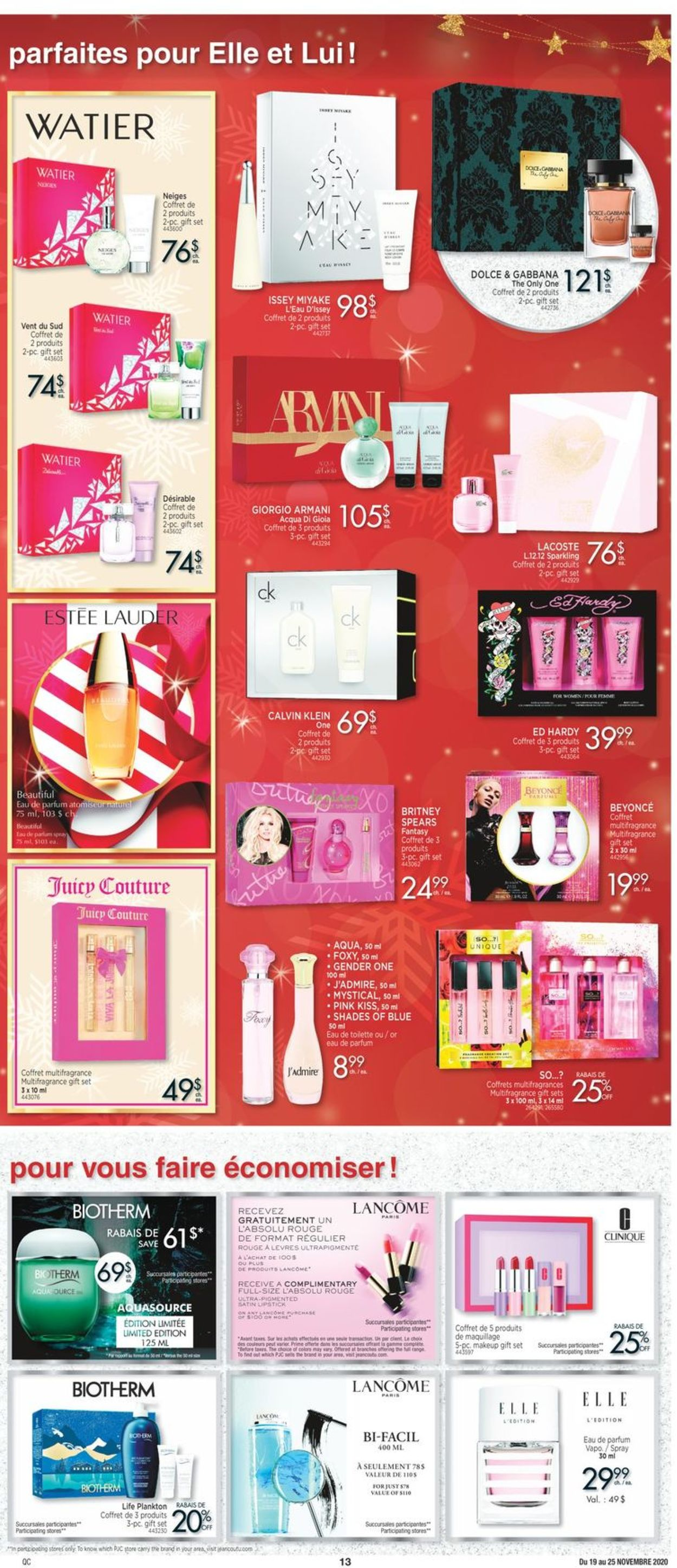 Jean Coutu Christmas 2020 Flyer - 11/19-11/25/2020 (Page 13)