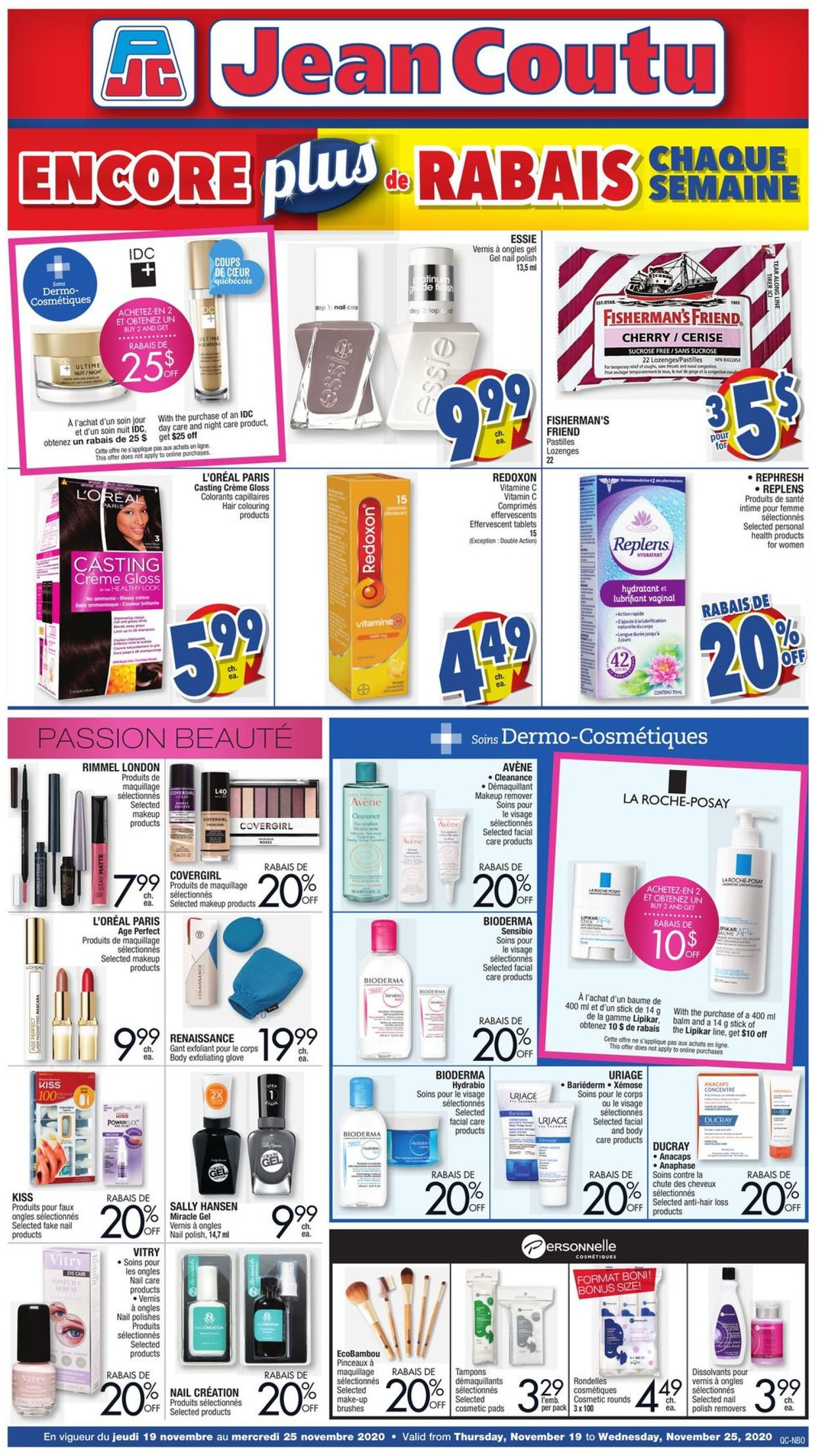 Jean Coutu Flyer - 11/19-11/25/2020